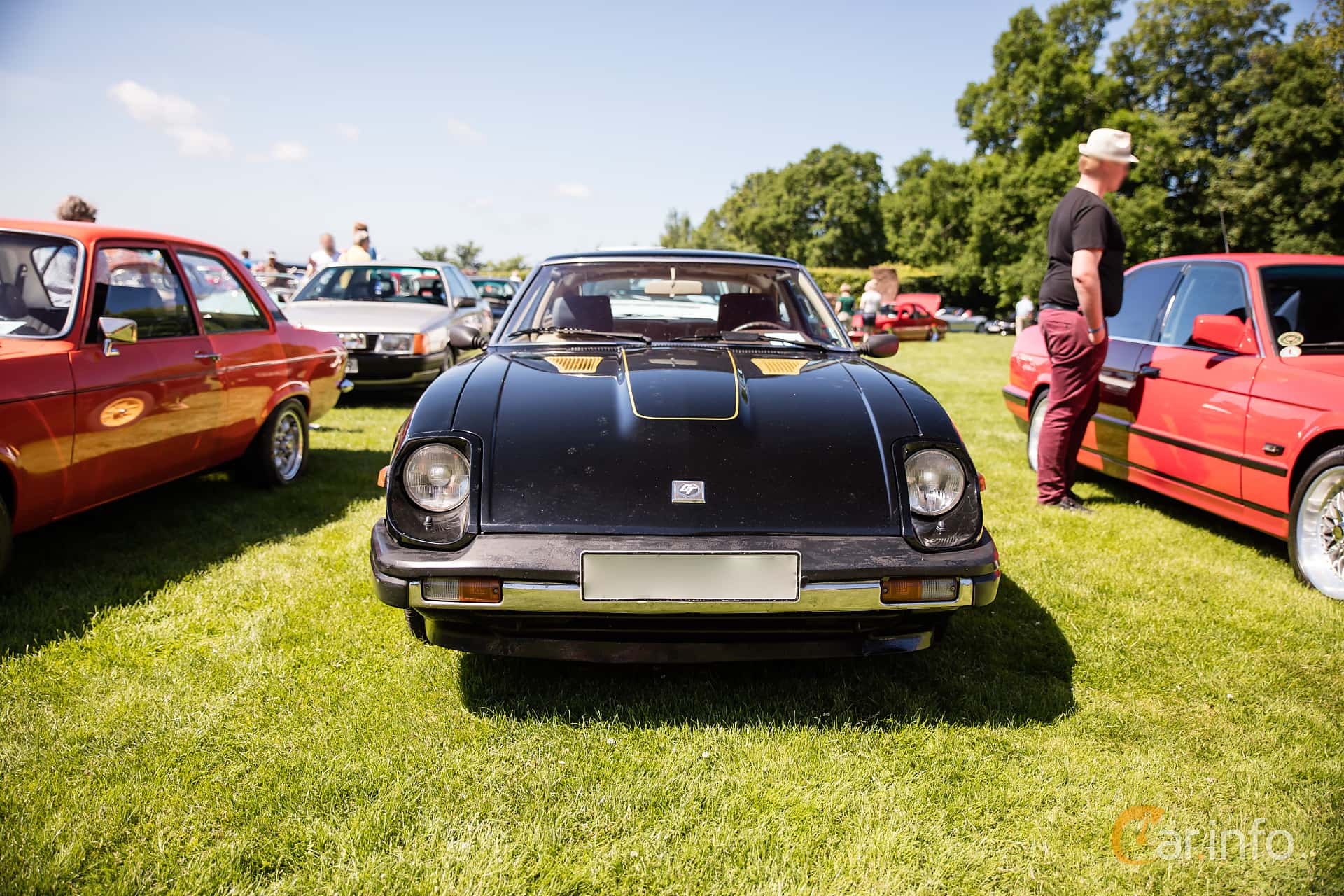 Front  of Datsun 280ZX 2.8 Manual, 140ps, 1981 at Sofiero Classic 2017