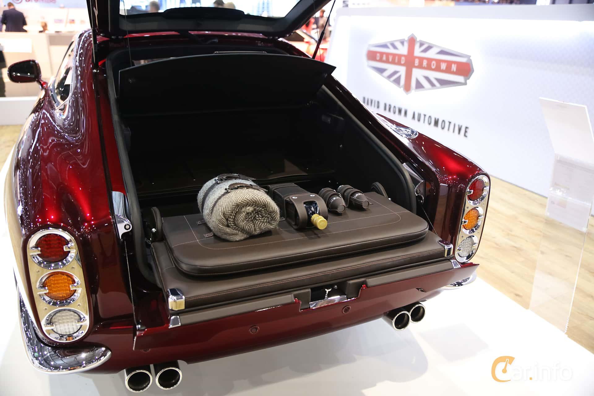 David Brown Speedback GT 5.0 V8 Automatic, 609hp, 2019 at Geneva Motor Show 2019