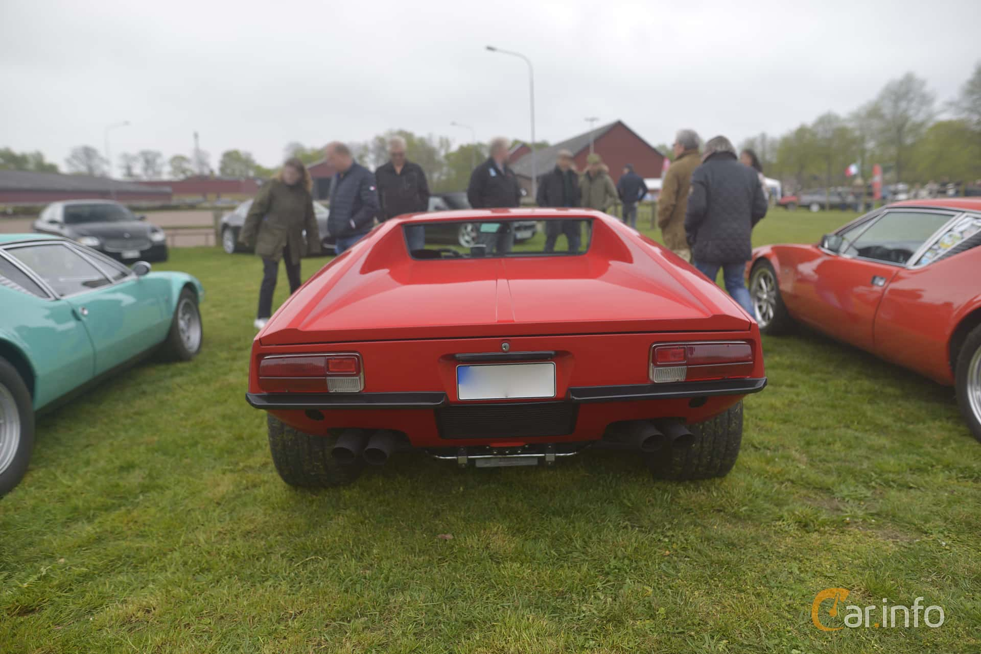 De Tomaso Pantera 5.8 V8 Manual, 330hp, 1973 at Italienska Fordonsträffen - Krapperup 2019