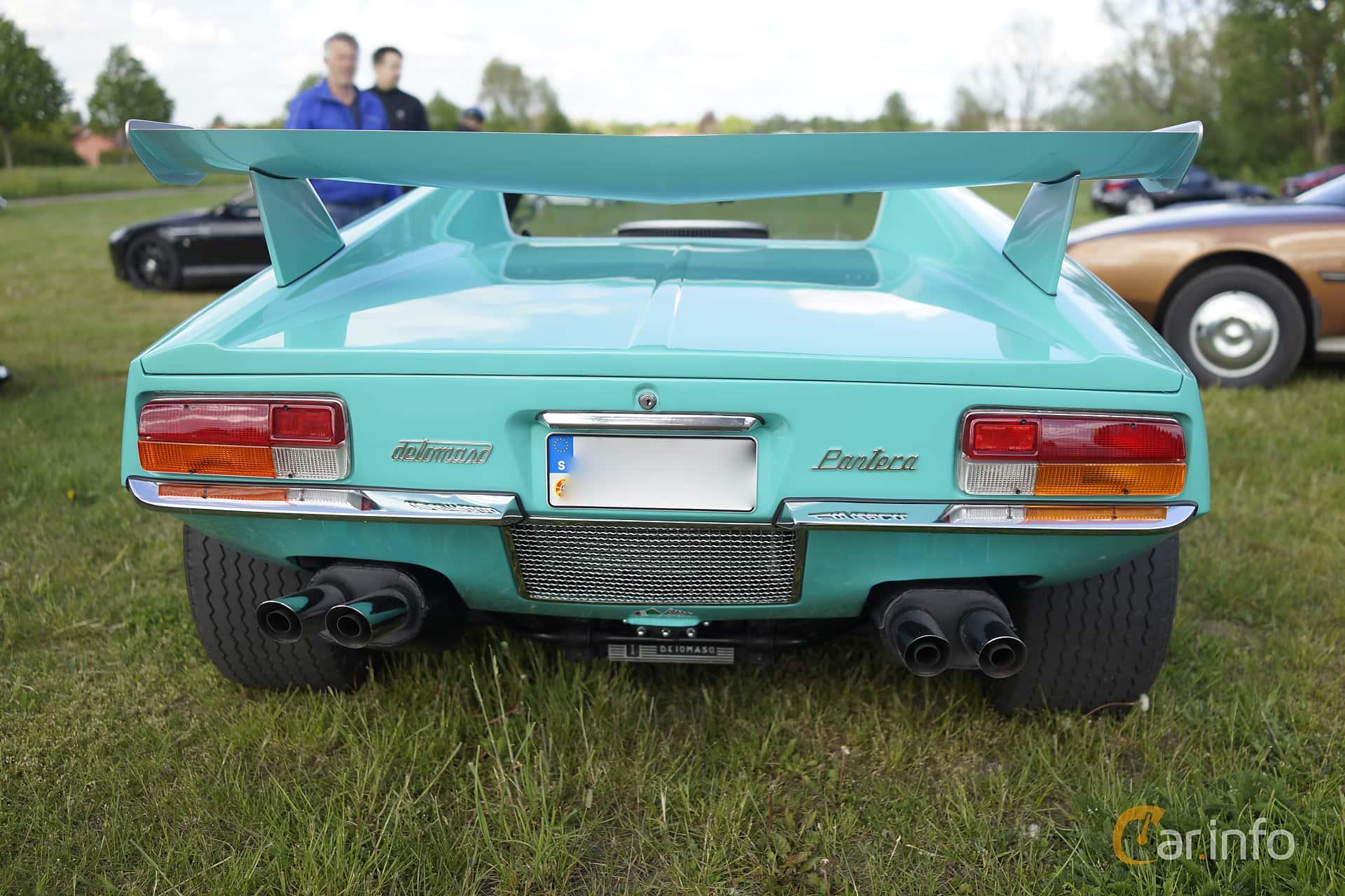 De Tomaso Pantera 5.8 V8 Manual, 314hp, 1971 at Tisdagsträffarna Vikingatider v.20 / 2015