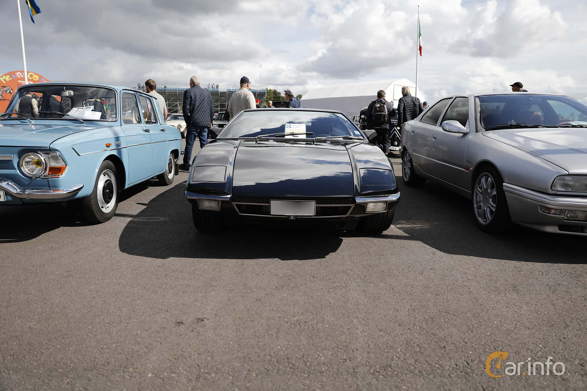 De Tomaso Pantera 5.8 V8 Manual, 241hp, 1972 at Nostalgia Racing Days / Mantorp Classic Festi 2018
