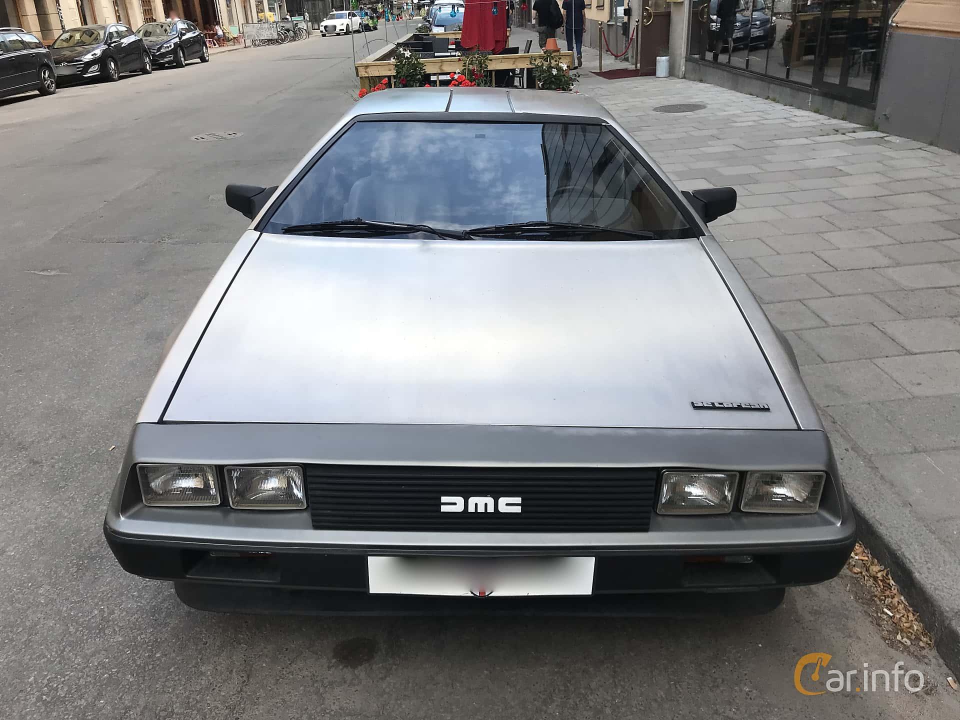 Fram av DeLorean DMC-12 2.8 V6 Automatic, 132ps, 1982