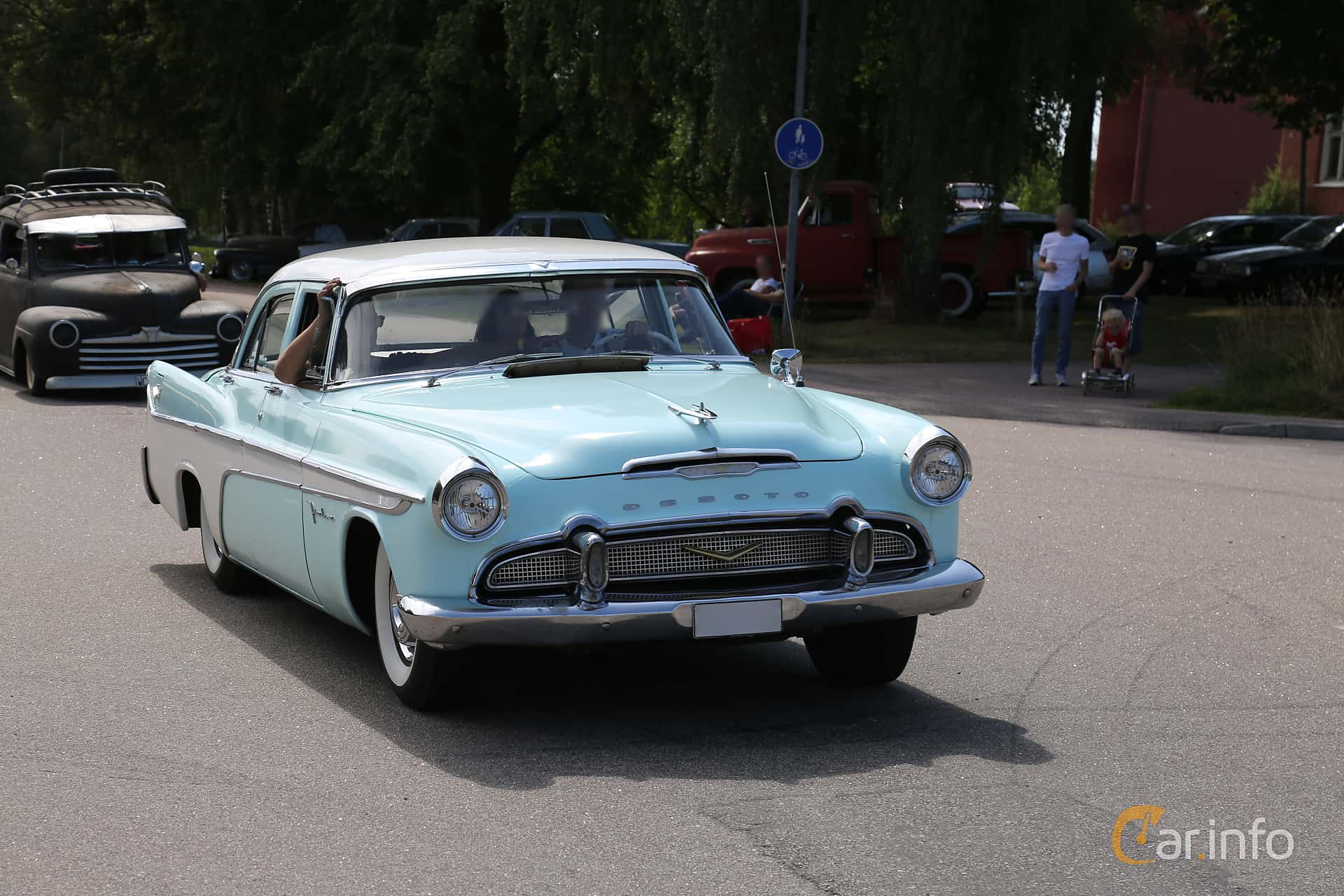 DeSoto Firedome Sedan 5.4 V8 Automatic, 233hp, 1956 at A-bombers - Old Style Weekend Backamo 2019
