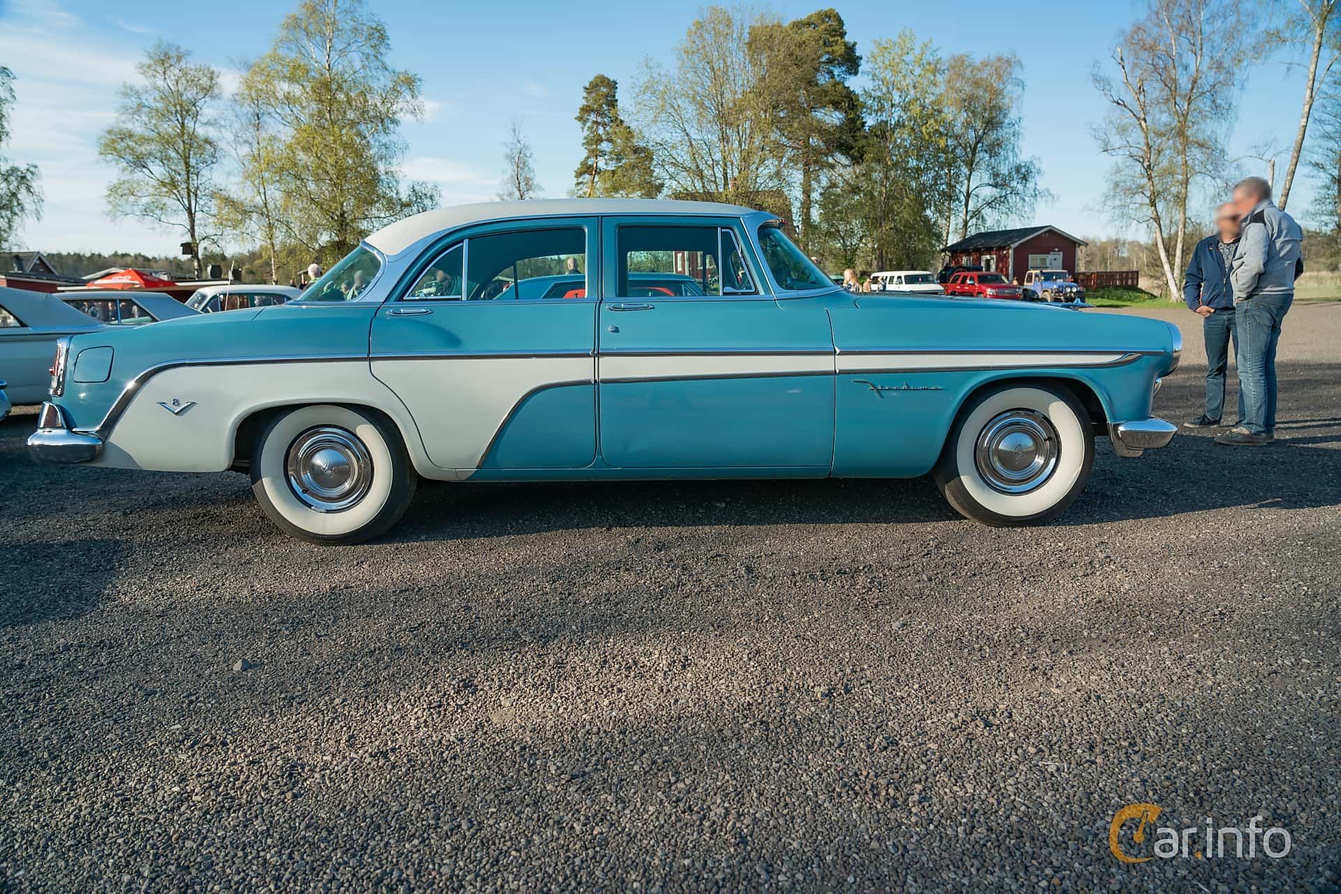 DeSoto Firedome Sedan 4.5 V8 Automatic, 188hp, 1955 at Lissma Classic Car 2019 vecka 20