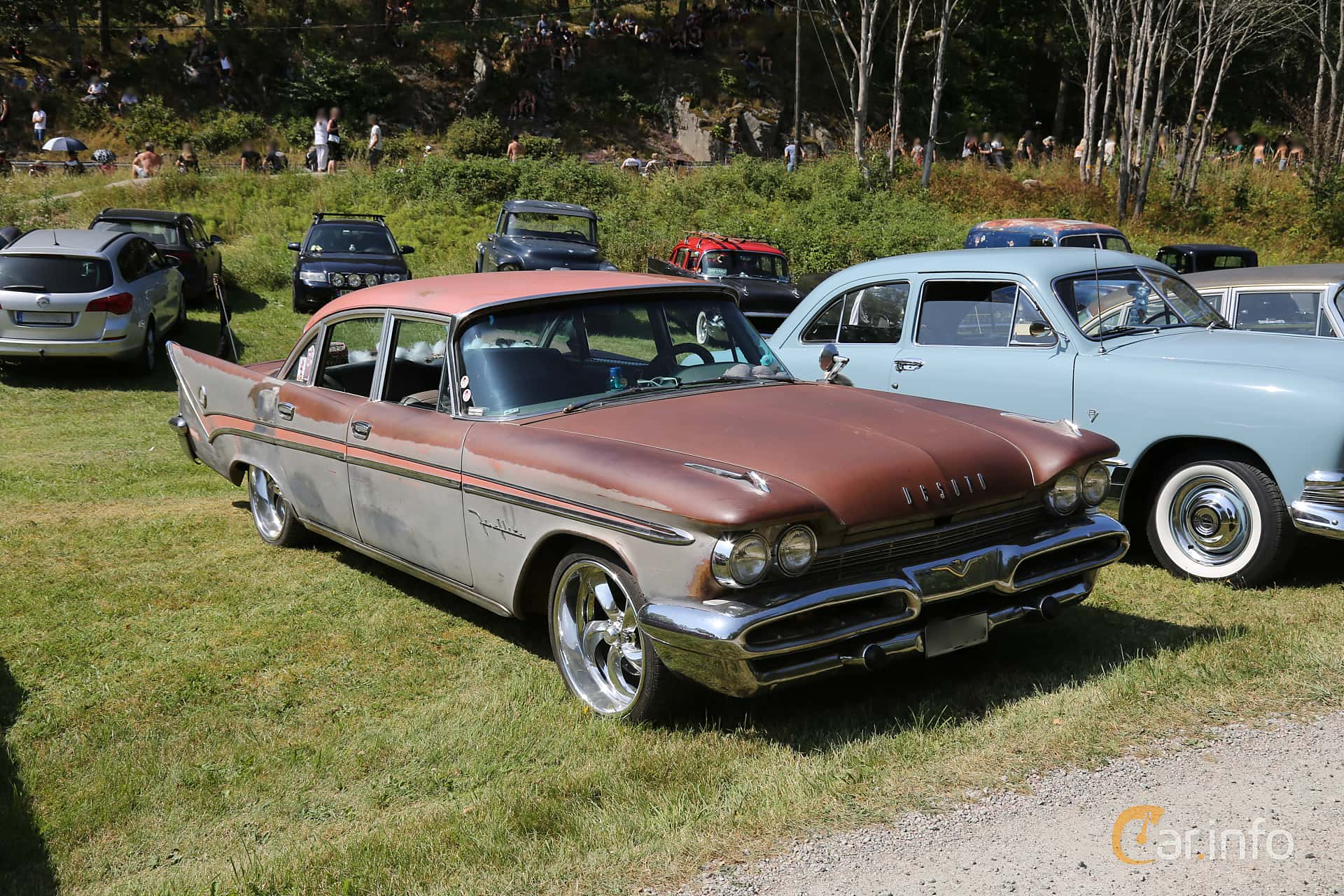 DeSoto Fireflite Sedan 6.3 V8 Automatic, 330hp, 1959 at A-bombers - Old Style Weekend Backamo 2019