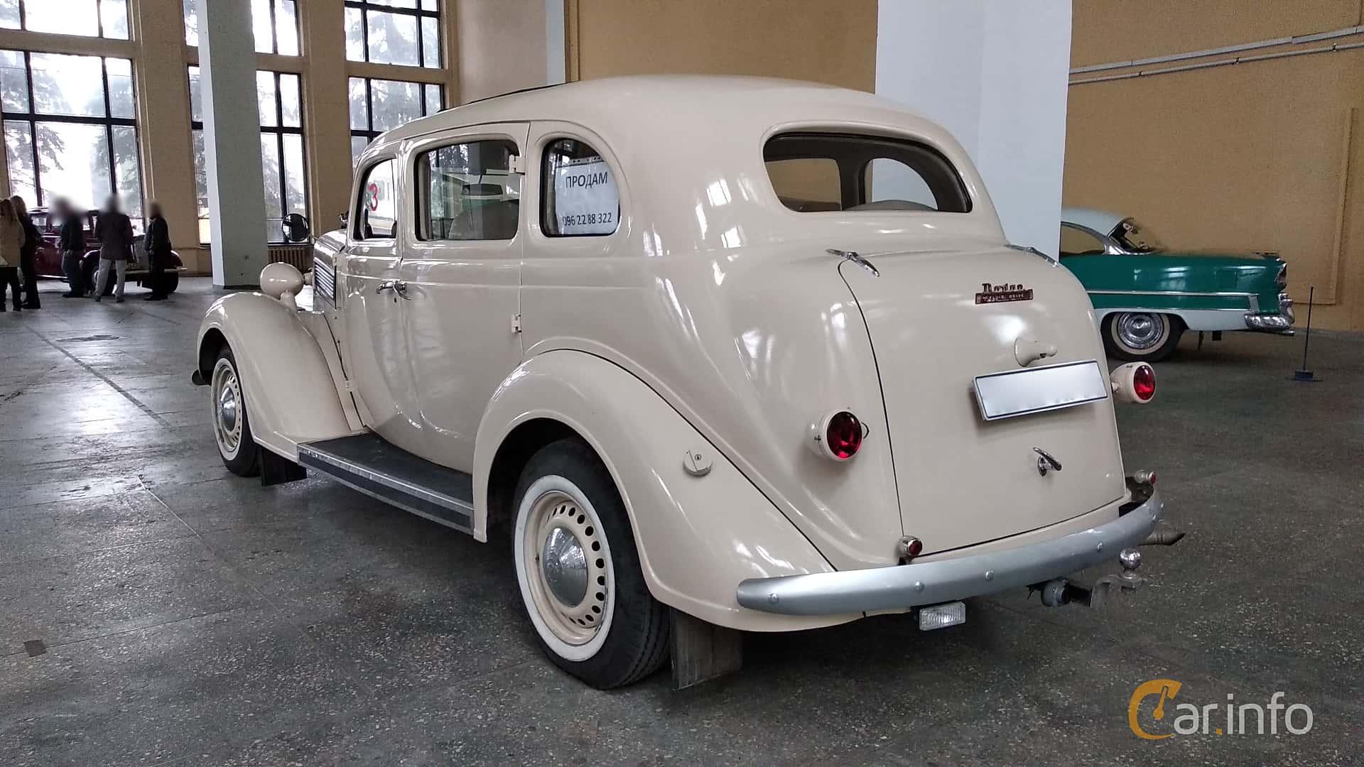 Dodge Beauty Winner 4-door Touring Sedan 3.6 Manual, 87hp, 1936 at Old Car Land no.2 2018