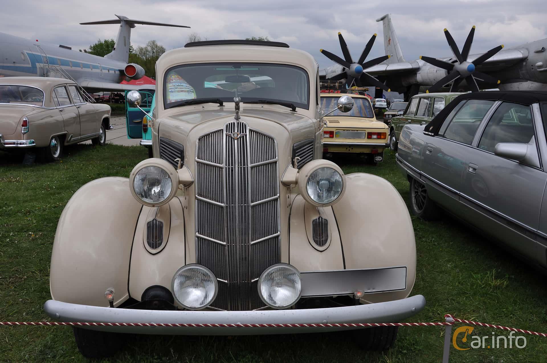 Dodge Beauty Winner 4-door Touring Sedan 3.6 Manual, 87hp, 1936 at Old Car Land no.1 2019
