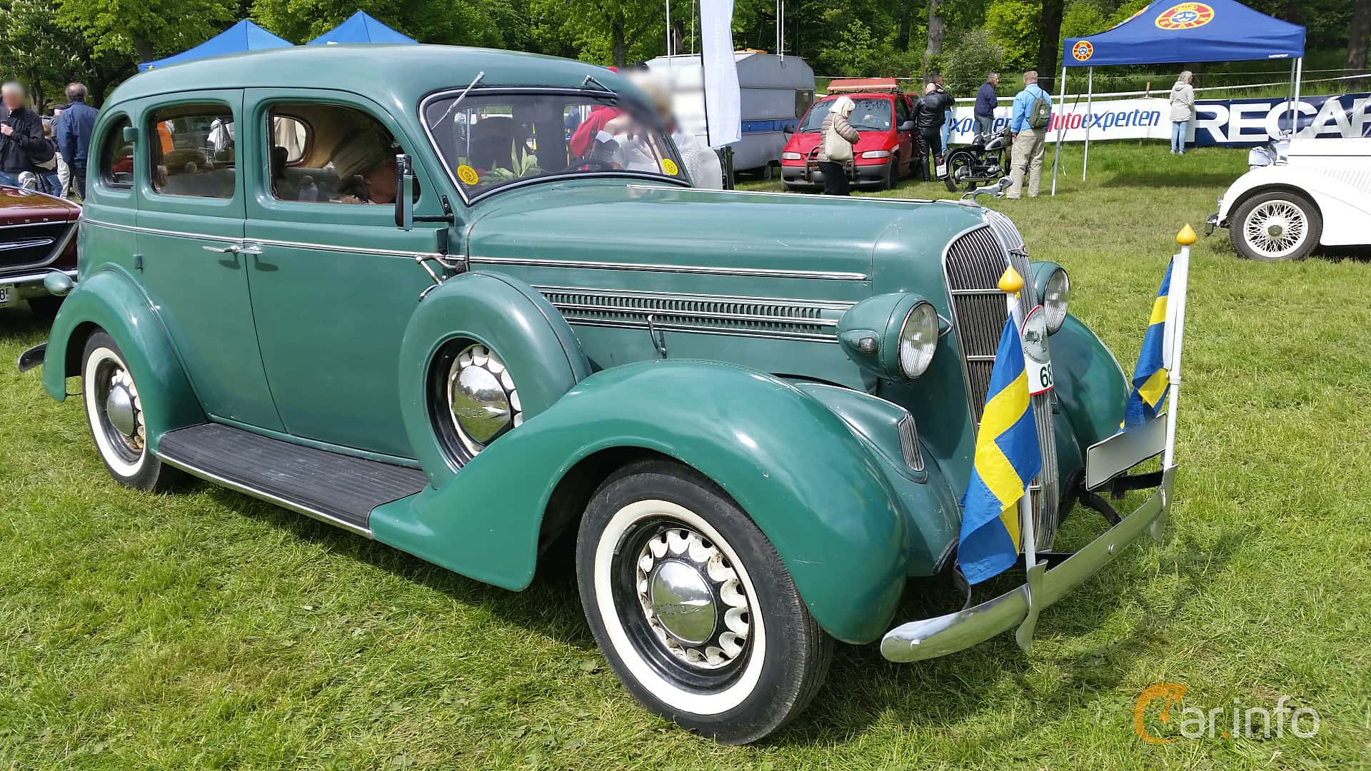 Dodge Beauty Winner 4-door Touring Sedan 3.6 Manual, 87hp, 1936