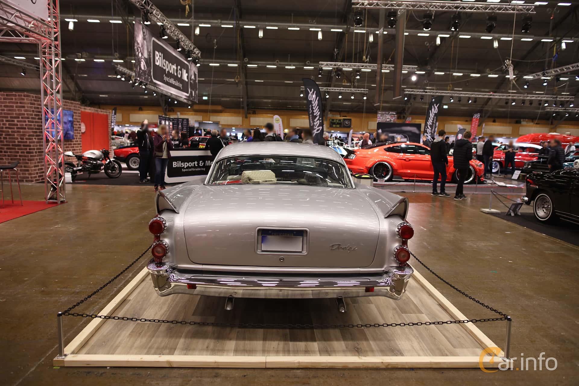 Dodge Coronet Lancer 2-door 5.3 V8 PowerFlite, 256hp, 1958 at Bilsport Performance & Custom Motor Show 2017