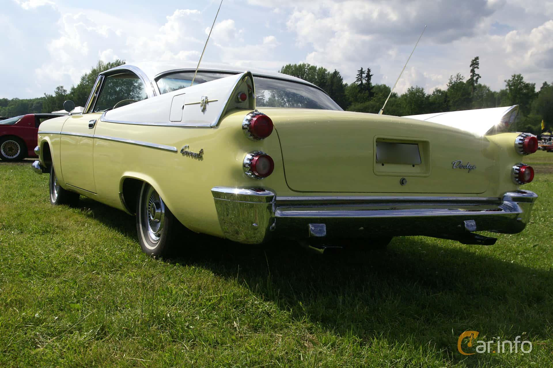 Dodge Coronet Lancer 2-door 5.3 V8 PowerFlite, 256hp, 1958