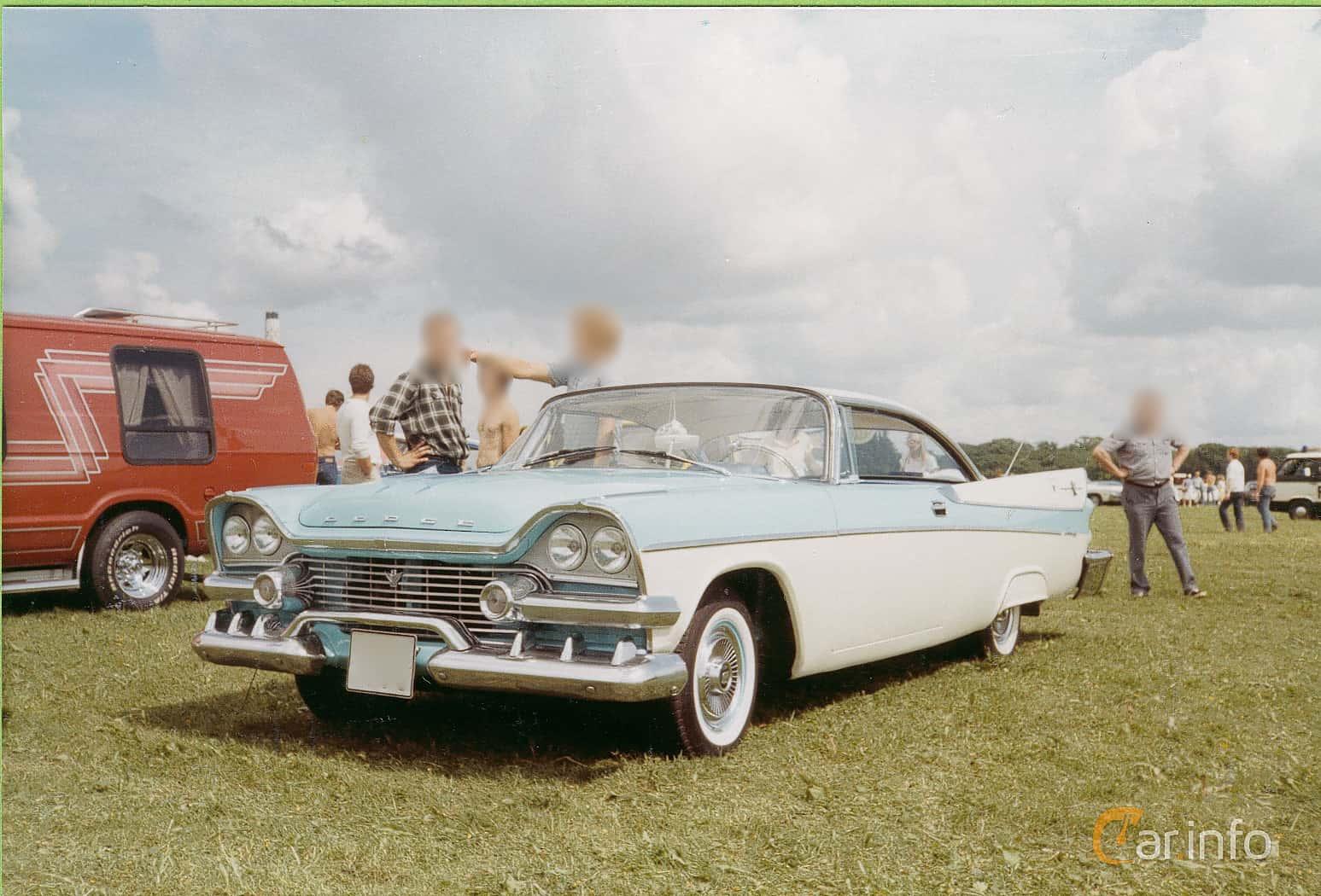 Dodge Coronet Lancer 2-door 5.3 V8 PowerFlite, 256hk, 1958