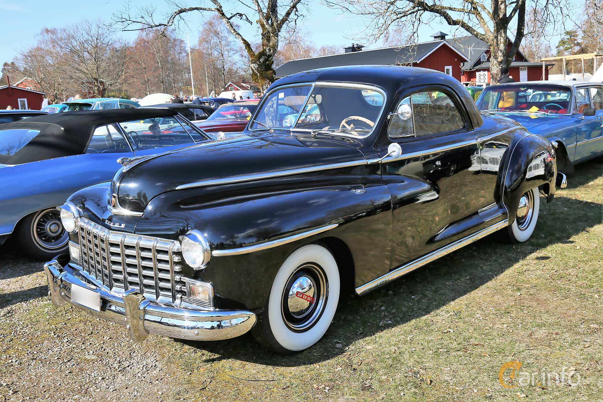Dodge Deluxe Business Coupé 3.8 Manual, 102hp, 1947 at Uddevalla Veteranbilsmarknad Backamo, Ljungsk 2019