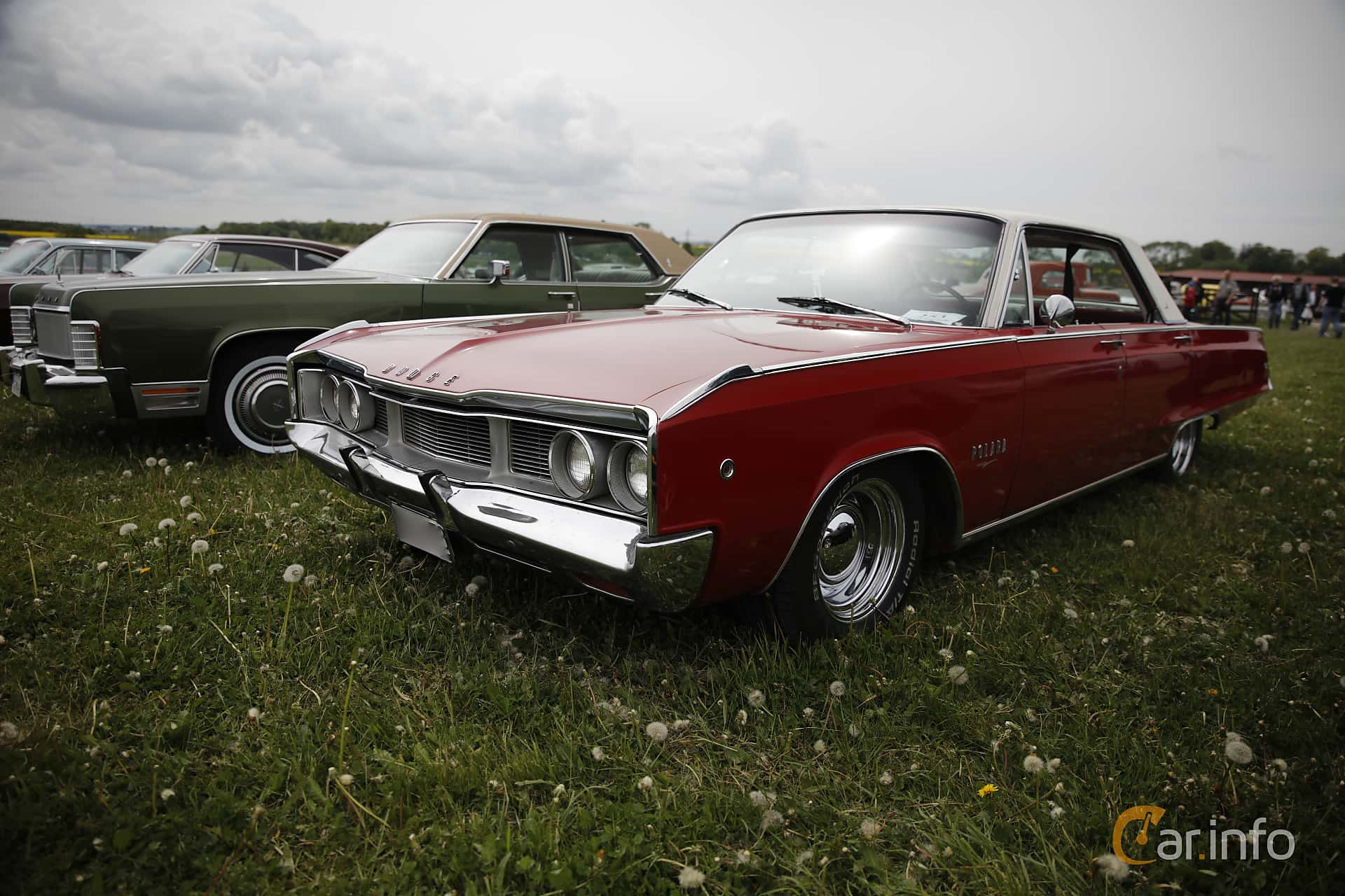 Dodge Polara 4 Door Hardtop 63 V8 Automatic 294hp 1968