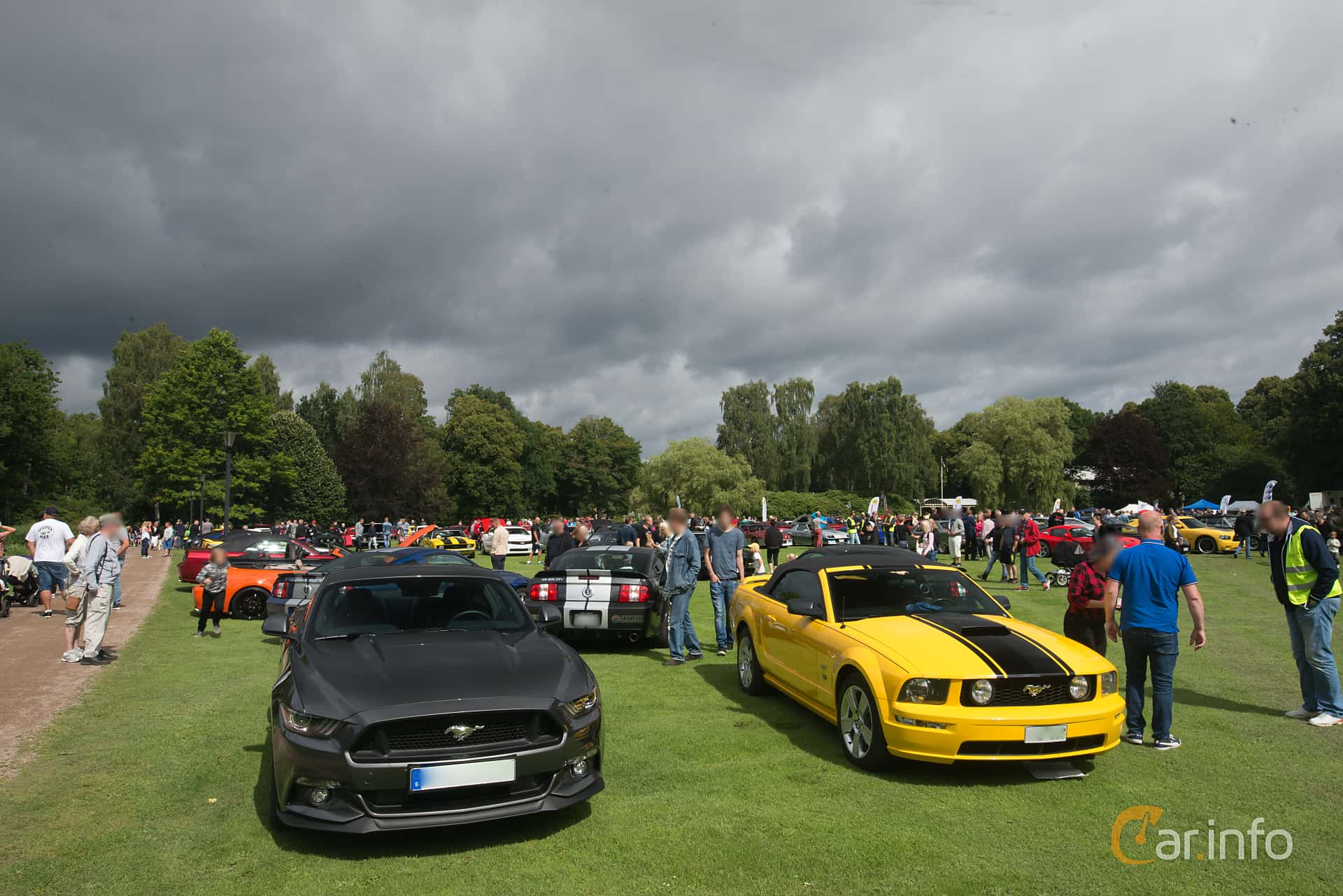 Pony & Muscle Car Meet Ronneby 2017