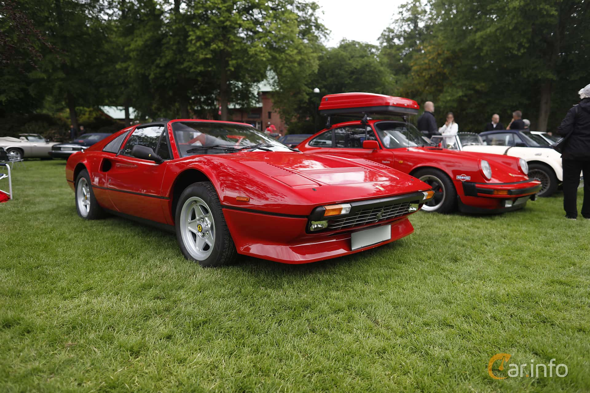 Ferrari 308 GTSi Quattrovalvole 2.9 V8 Manual, 240hp, 1985 at Sofiero Classic 2019
