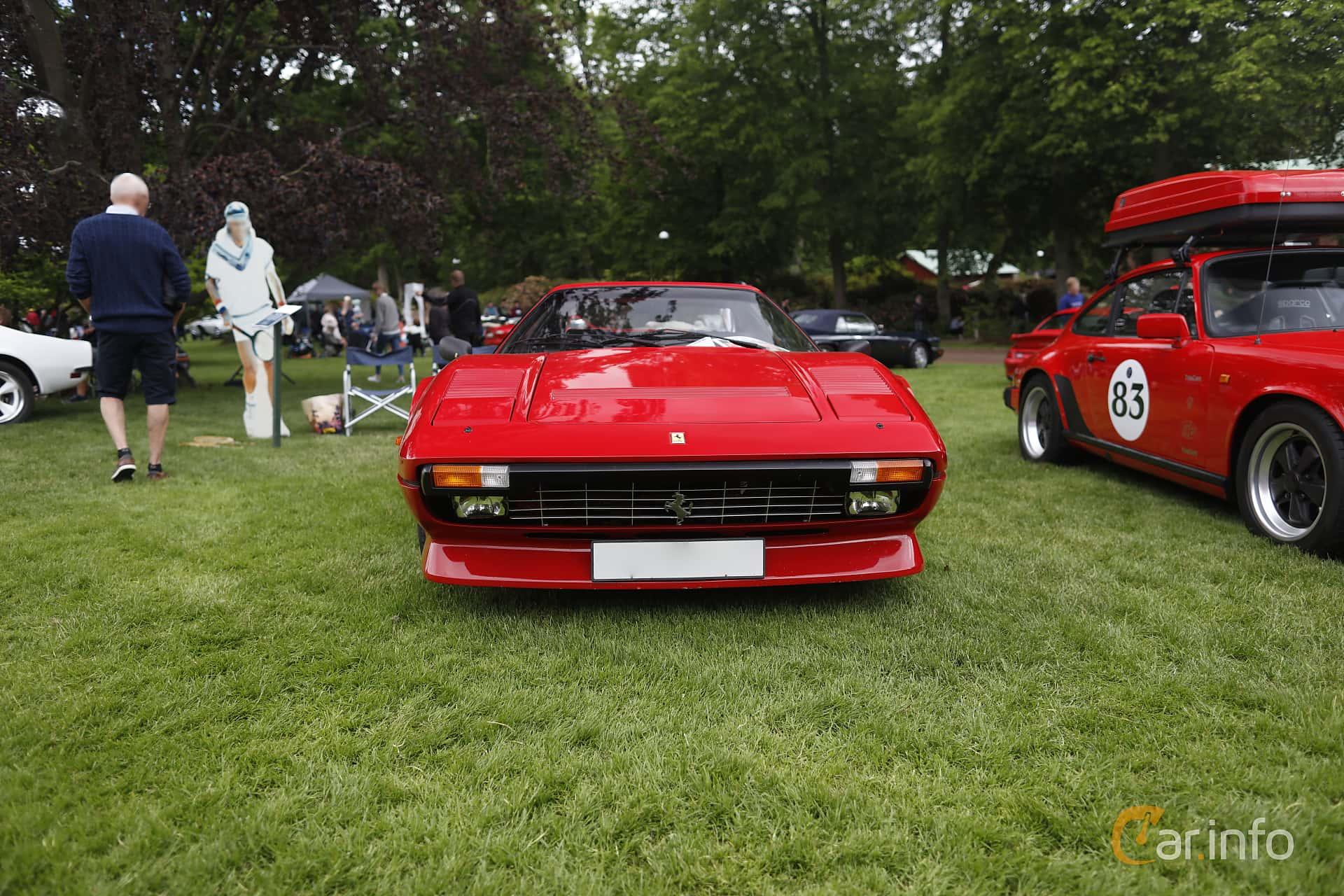Ferrari 308 GTSi Quattrovalvole 2.9 V8 Manual, 240hp, 1985 at Sofiero Classic 2019
