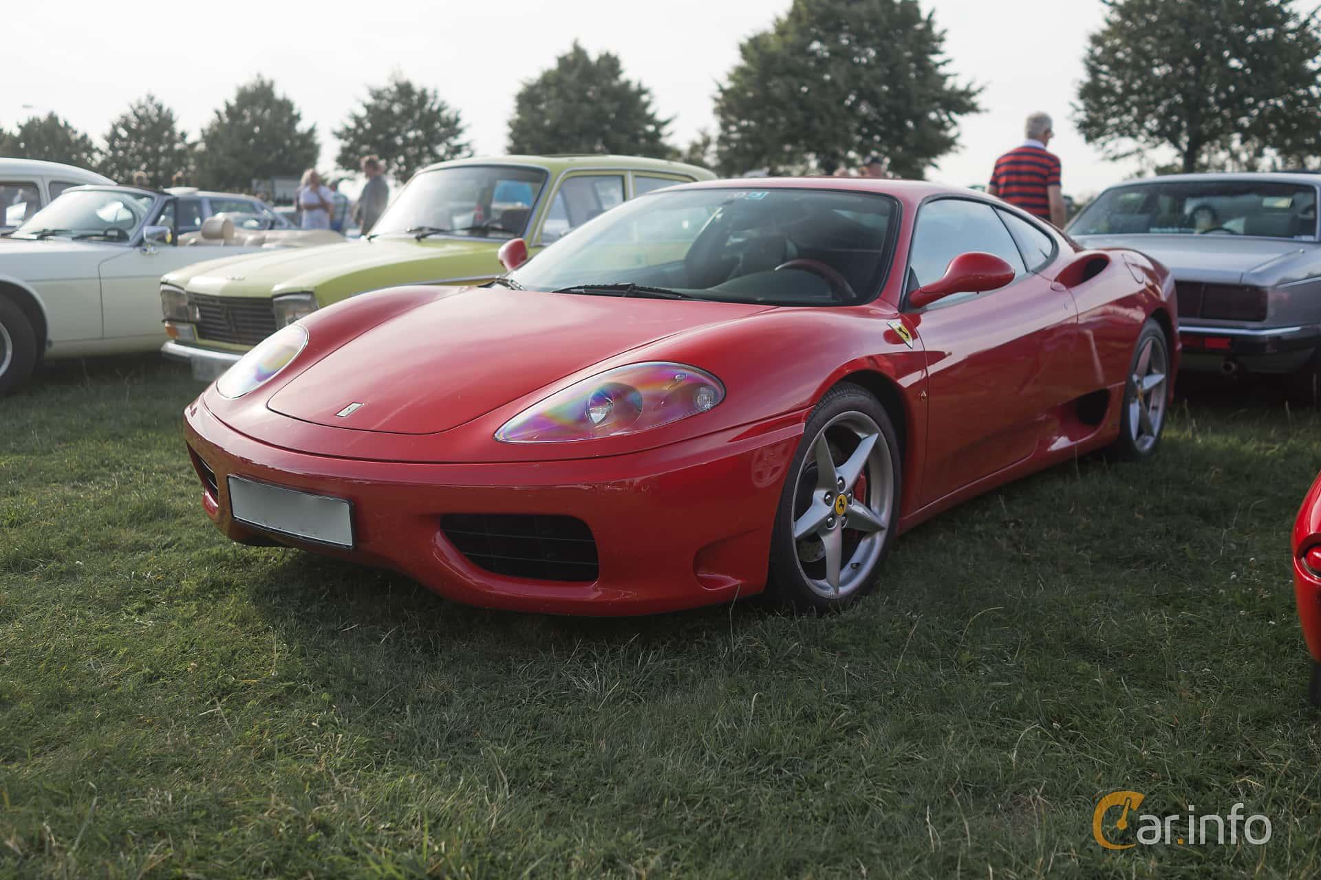 Ferrari 360 Modena 3.6 V8 Sequential, 400hp, 2001 at Tisdagsträffarna Vikingatider v.32 / 2015