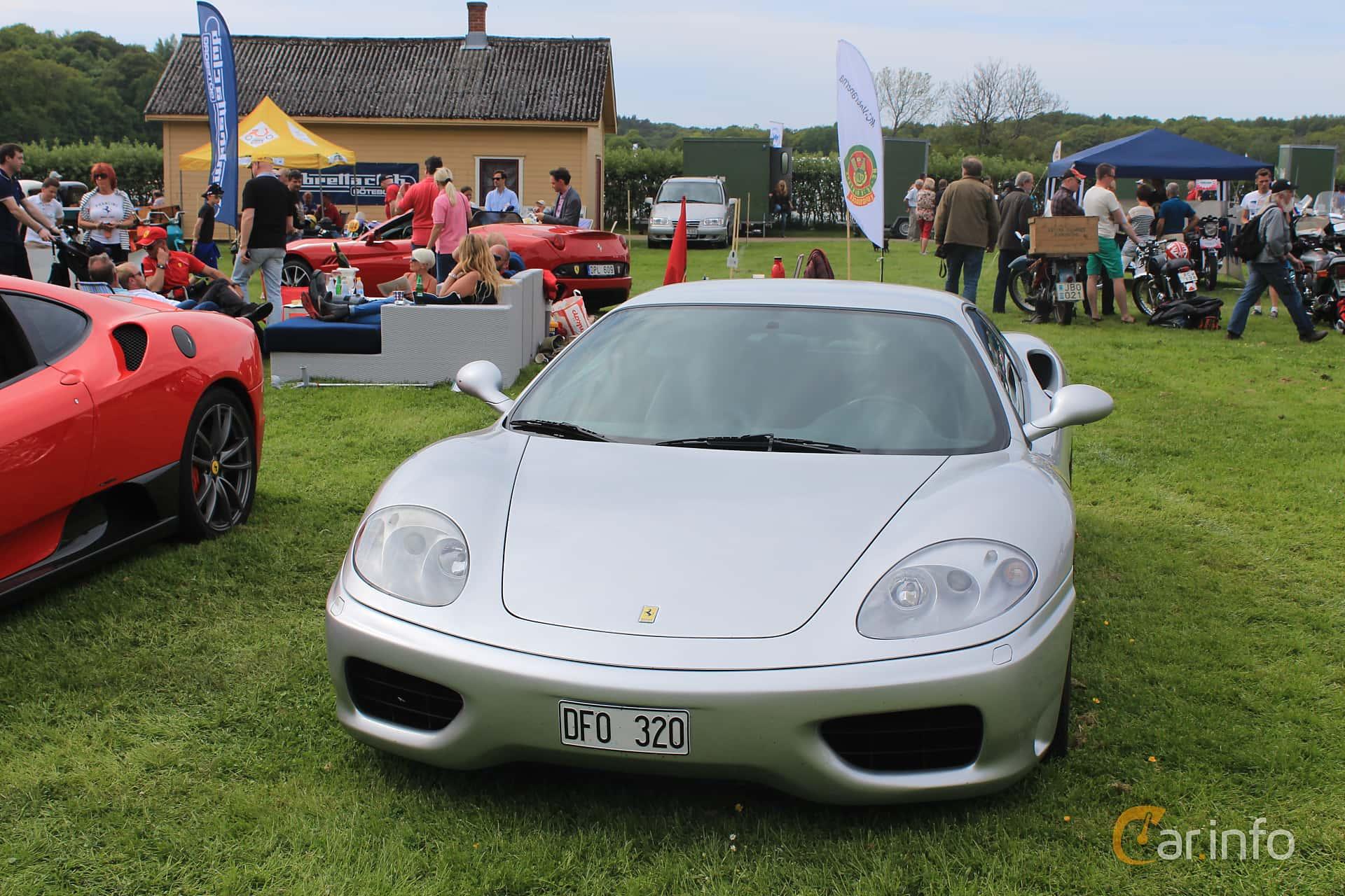 Ferrari 360 Modena 3.6 V8 Sequential, 400hp, 2001 at Tjolöholm Classic Motor 2014