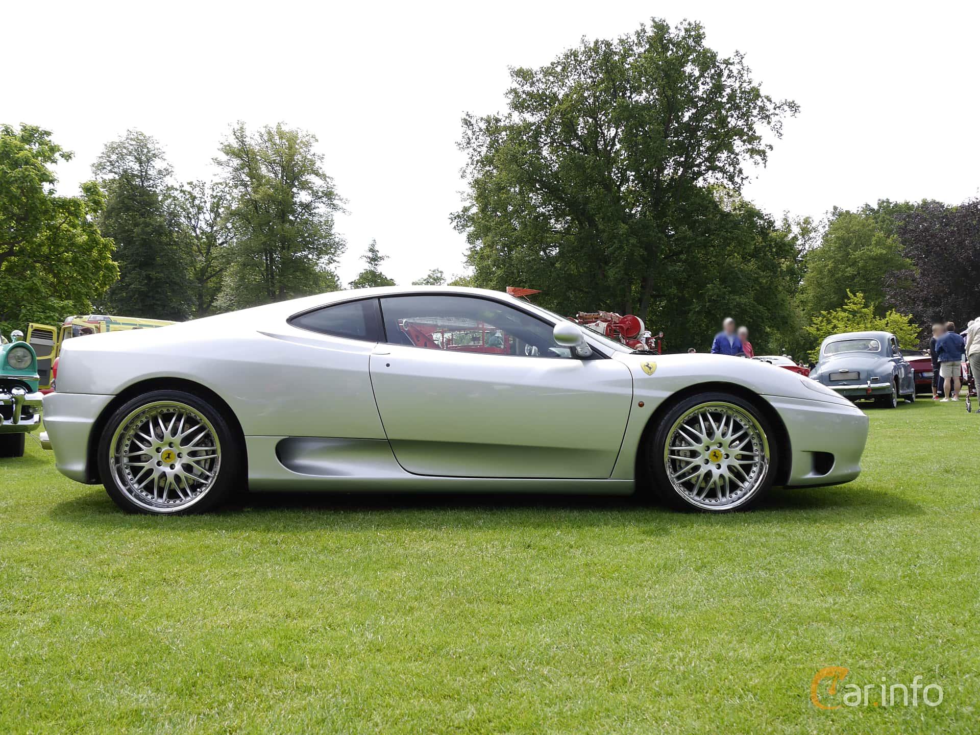 Ferrari 360 Modena 3.6 V8 Sequential, 400hp, 2001 at Sofiero Classic 2014