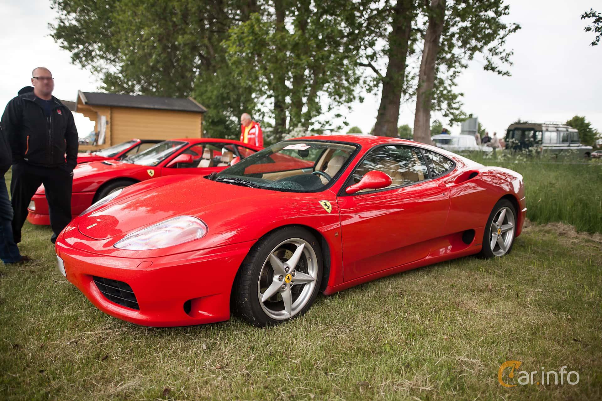 Ferrari 360 Modena 3.6 V8 Manual, 400hp, 2003 at Tisdagsträffarna Vikingatider v.24 / 2015