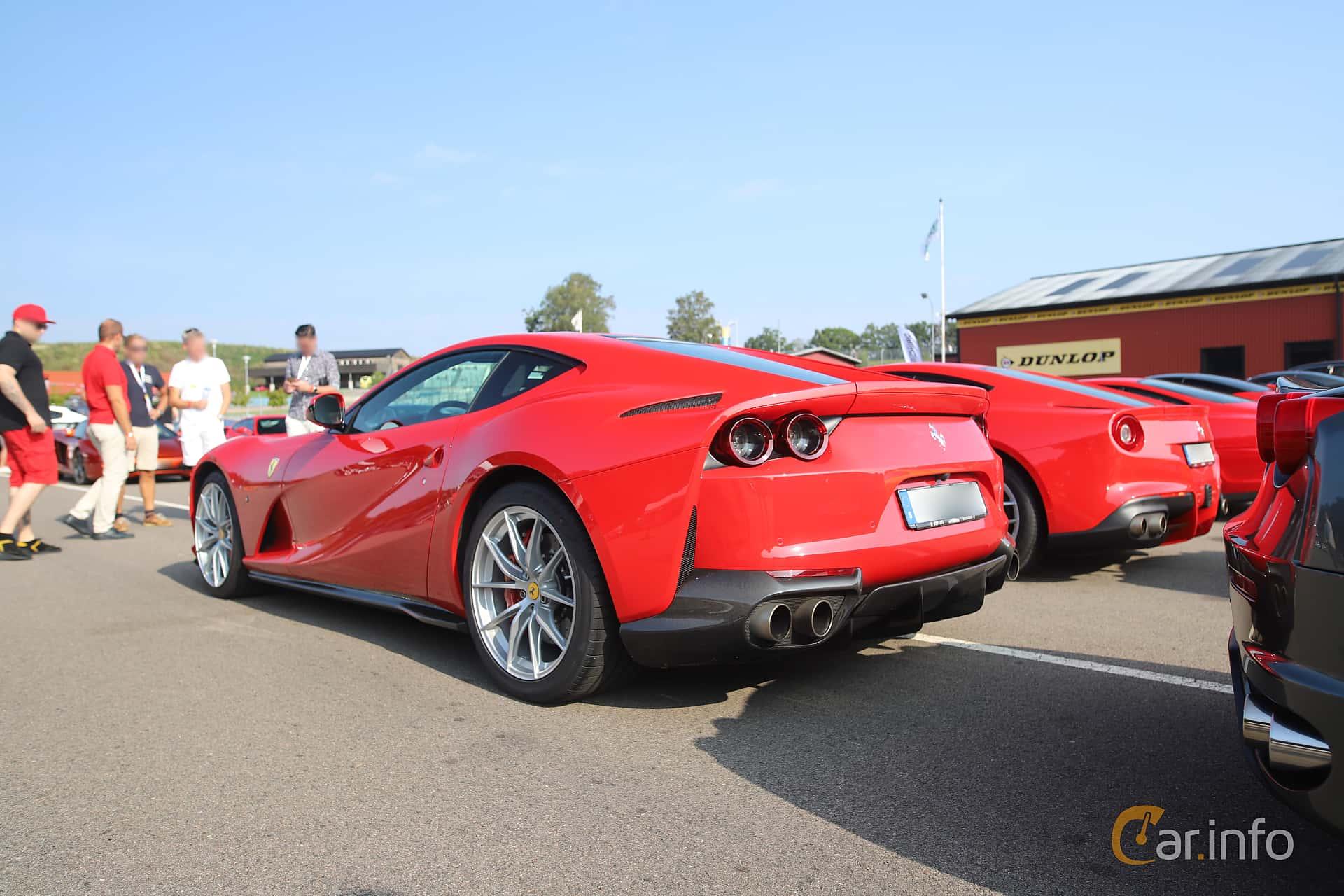 Ferrari 812 Superfast 6.5 V12 DCT, 800hp, 2018 at Autoropa Racing day Knutstorp 2019