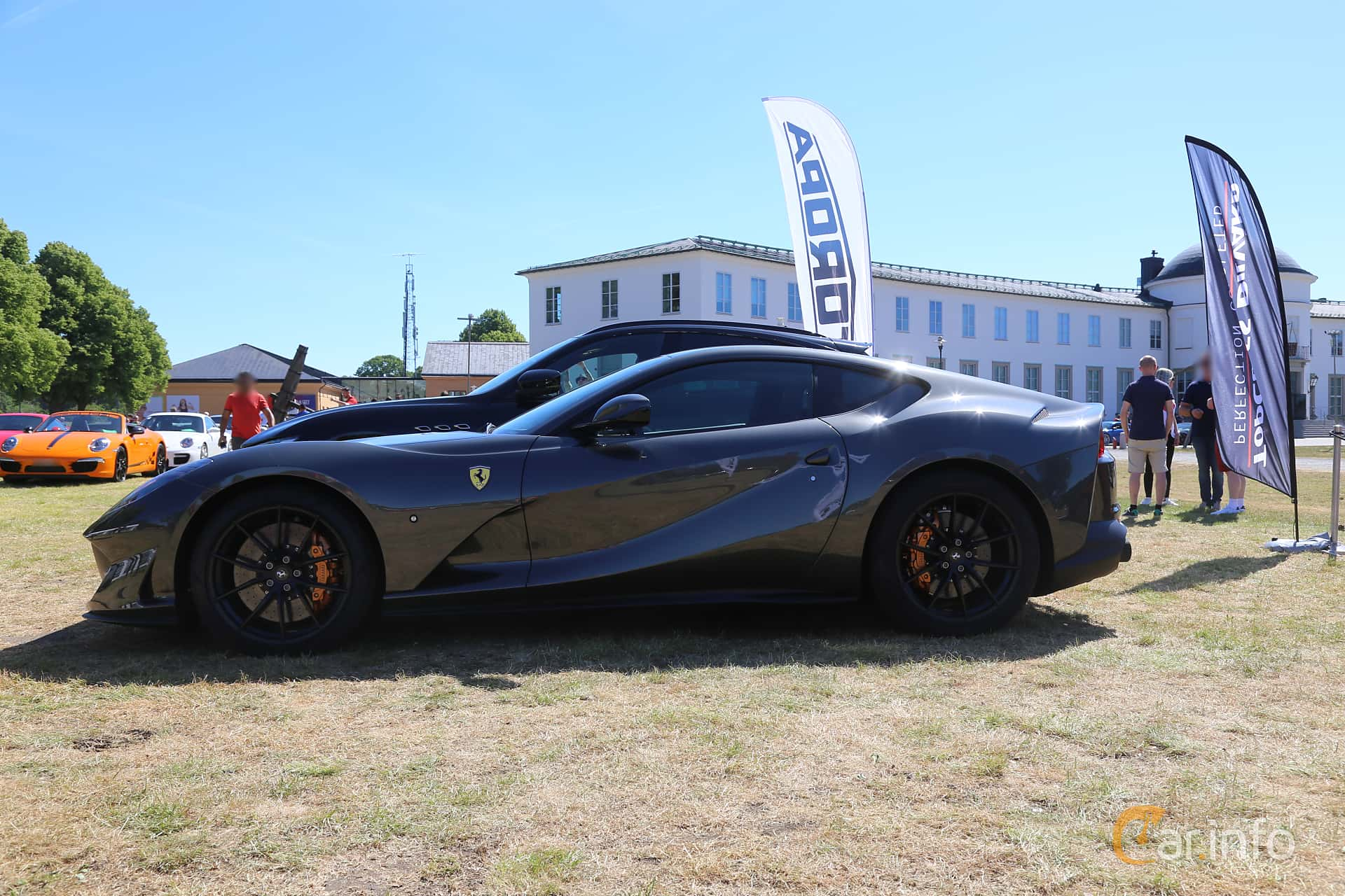 Ferrari 812 Superfast 6.5 V12 DCT, 800hp, 2018 at Cars and Coffee Stockholm 2018