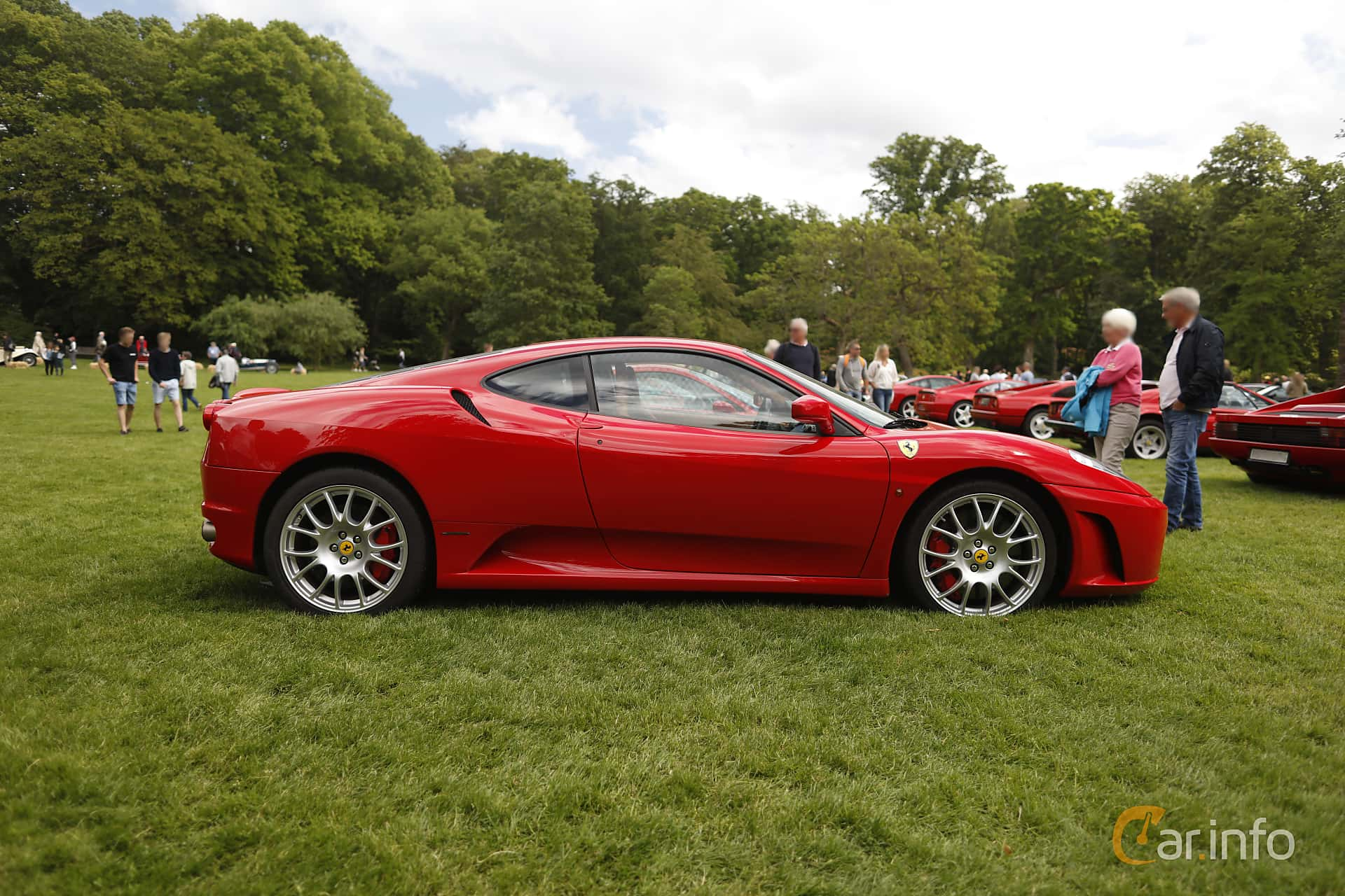 Ferrari F430 4.3 V8 Manual, 490hp, 2005 at Sofiero Classic 2019
