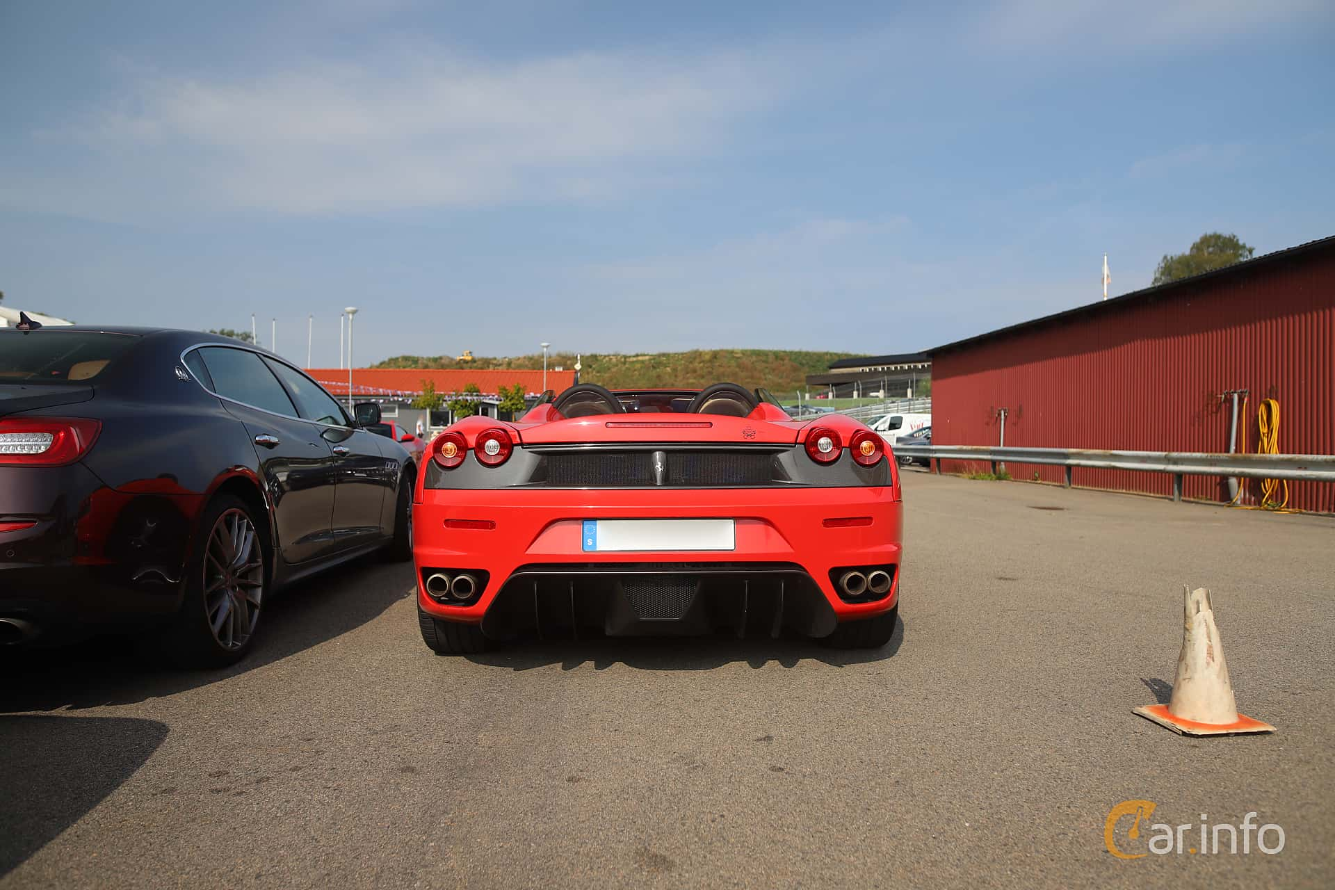 Ferrari F430 Spider 4.3 V8 Sequential, 490hp, 2008 at Autoropa Racing day Knutstorp 2019
