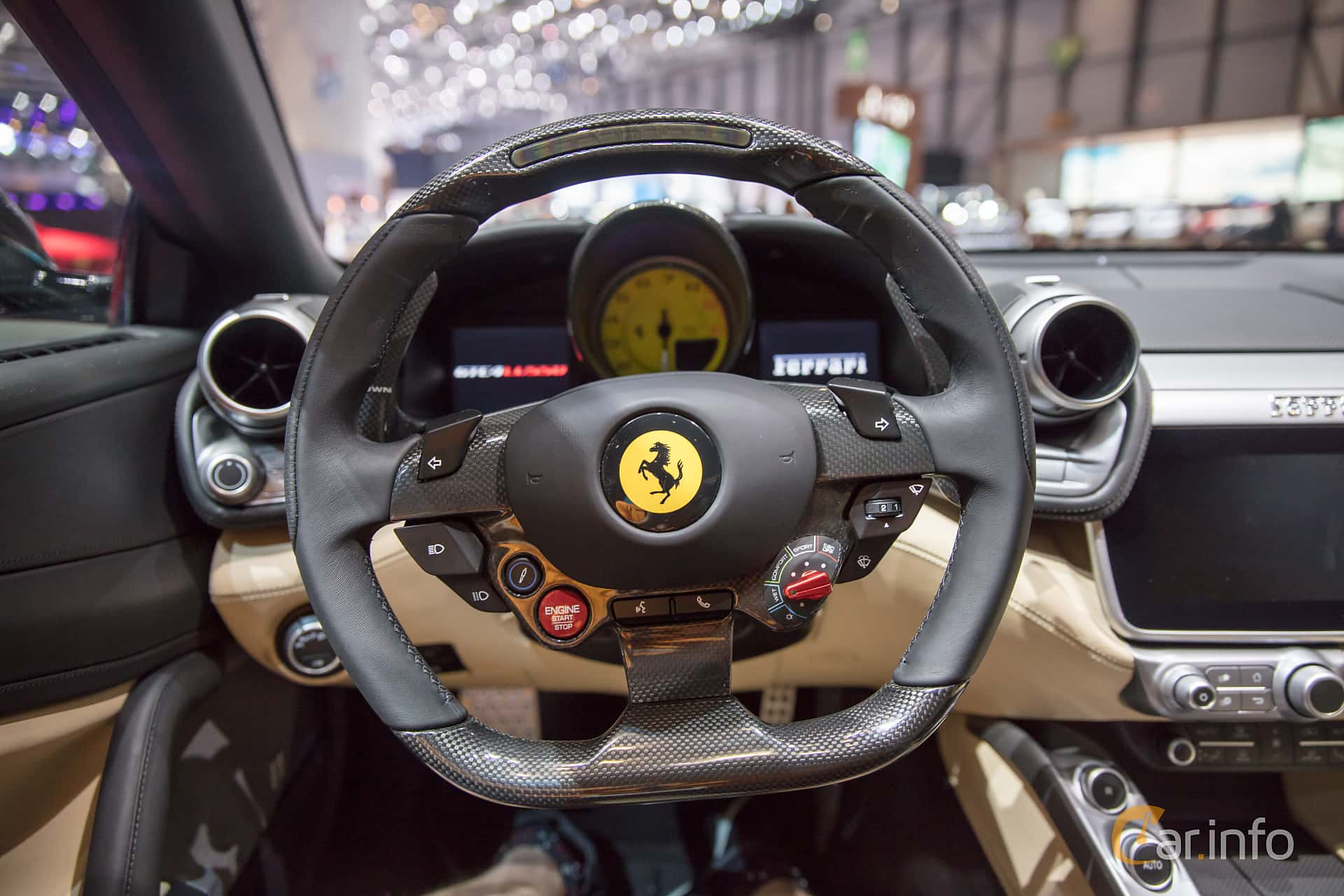 Ferrari gtc4 lusso 6 3 v12 dct 690hk 2017 at geneva - 2017 ferrari california interior ...