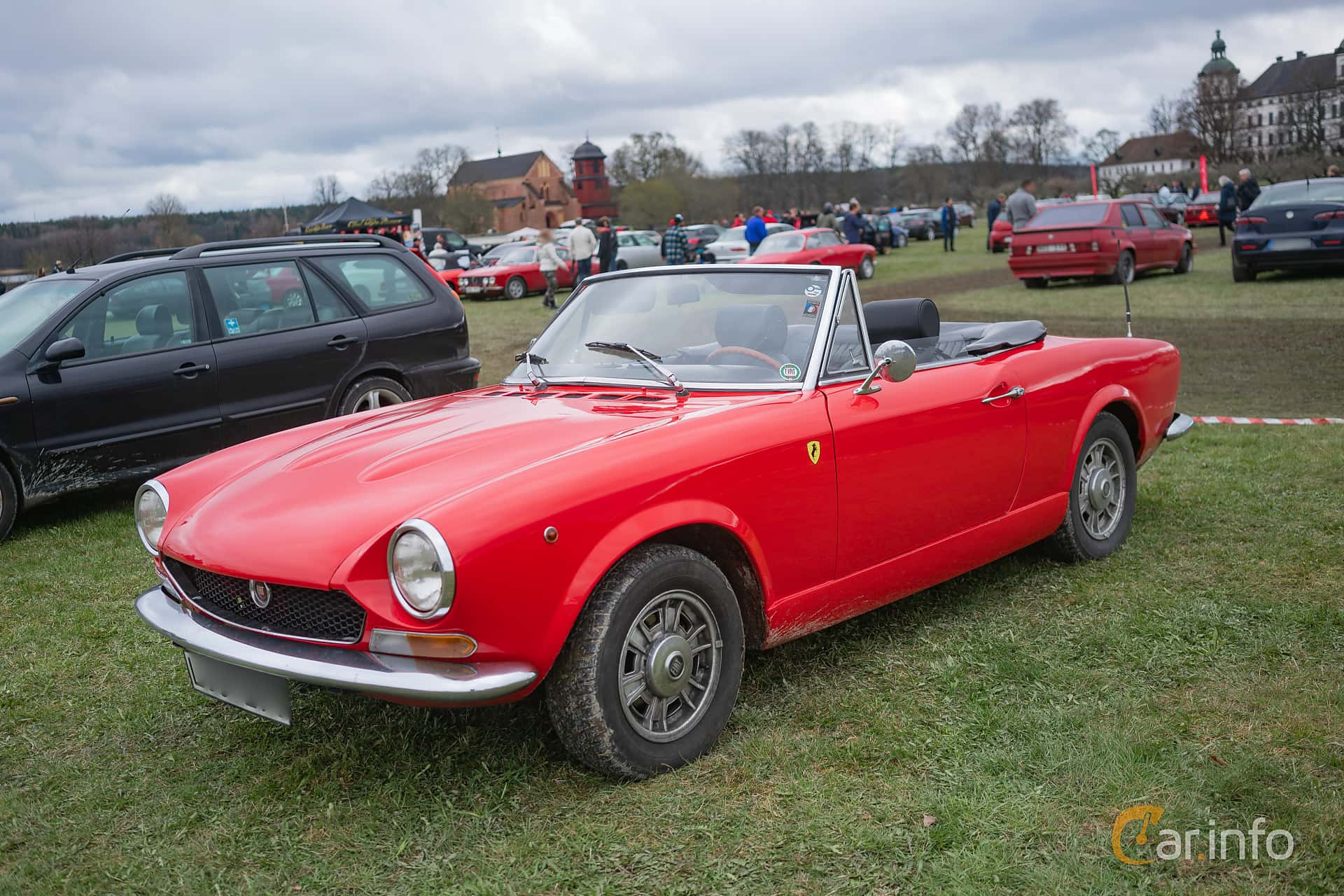 6 Images Of Fiat 124 Sport Spider 16 Manual 110hp 1970 By Convertible Front Side 110ps At Italienska