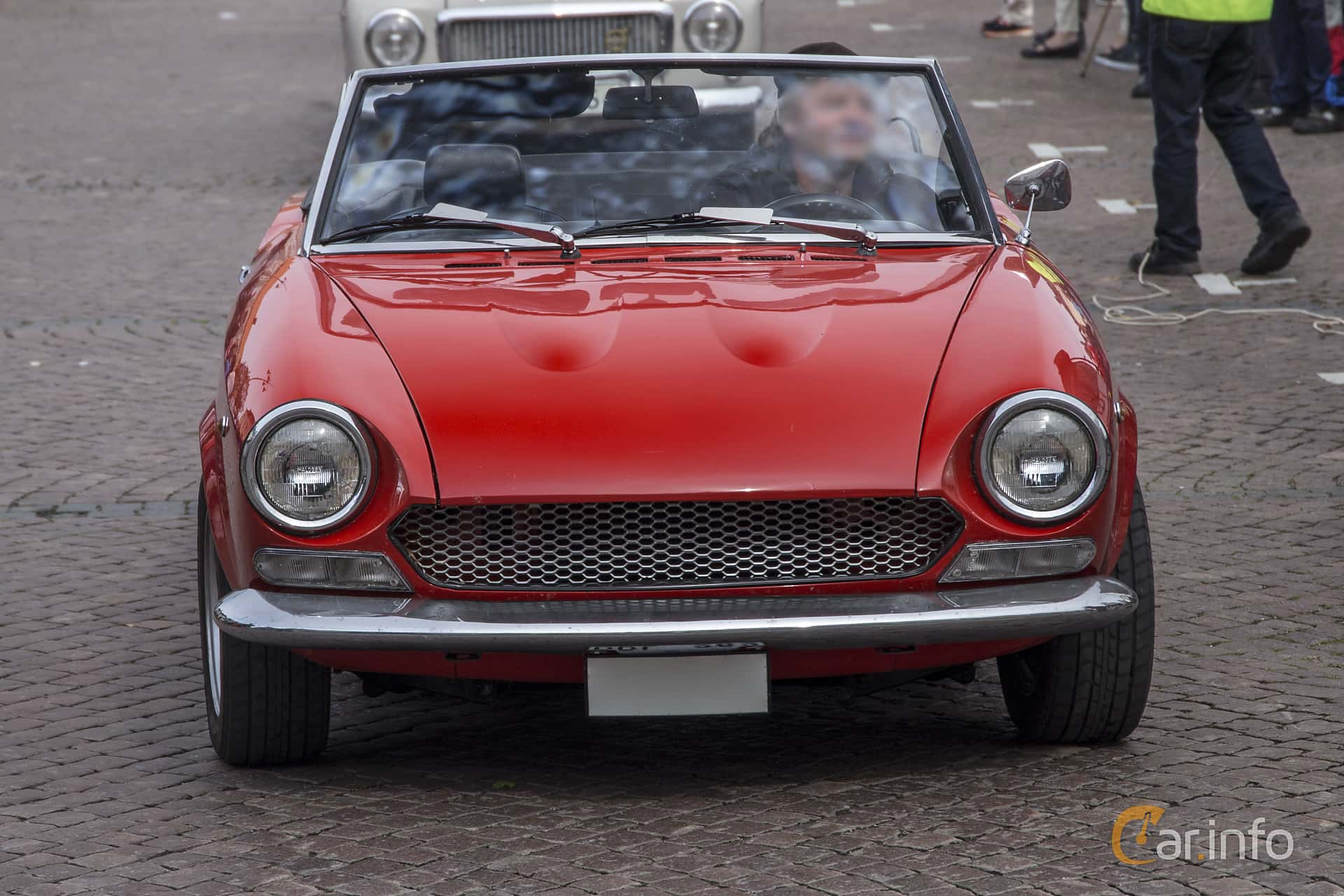 3 Images Of Fiat 124 Sport Spider 14 Manual 90hp 1970 By Pelle Front 90ps At Trstadsrallyt Europe 2016