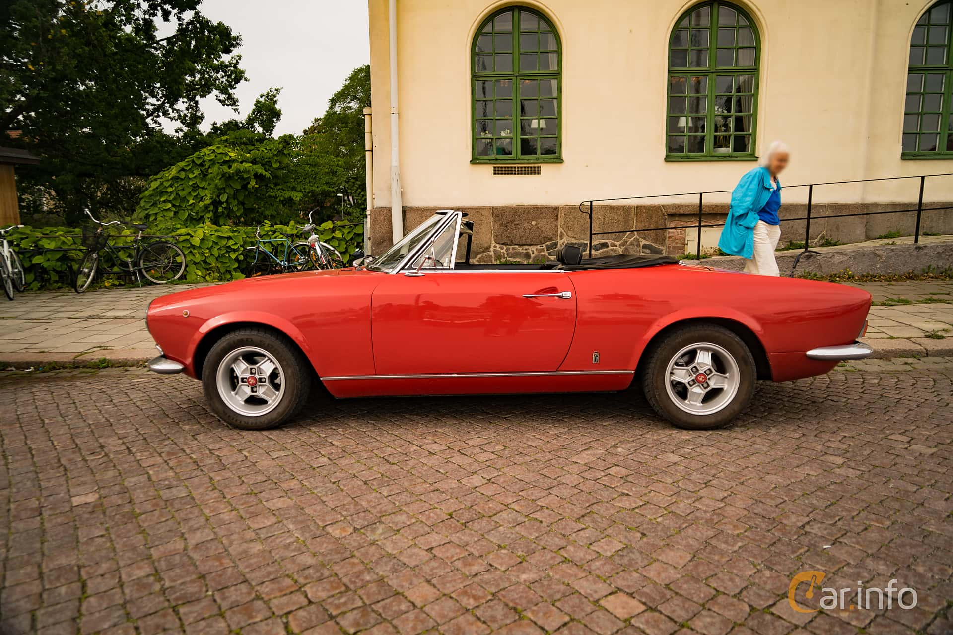 5 Images Of Fiat 124 Sport Spider 14 Manual 90hp 1970 By Convertible Side 90ps At Trstadsrallyt Europe 2016