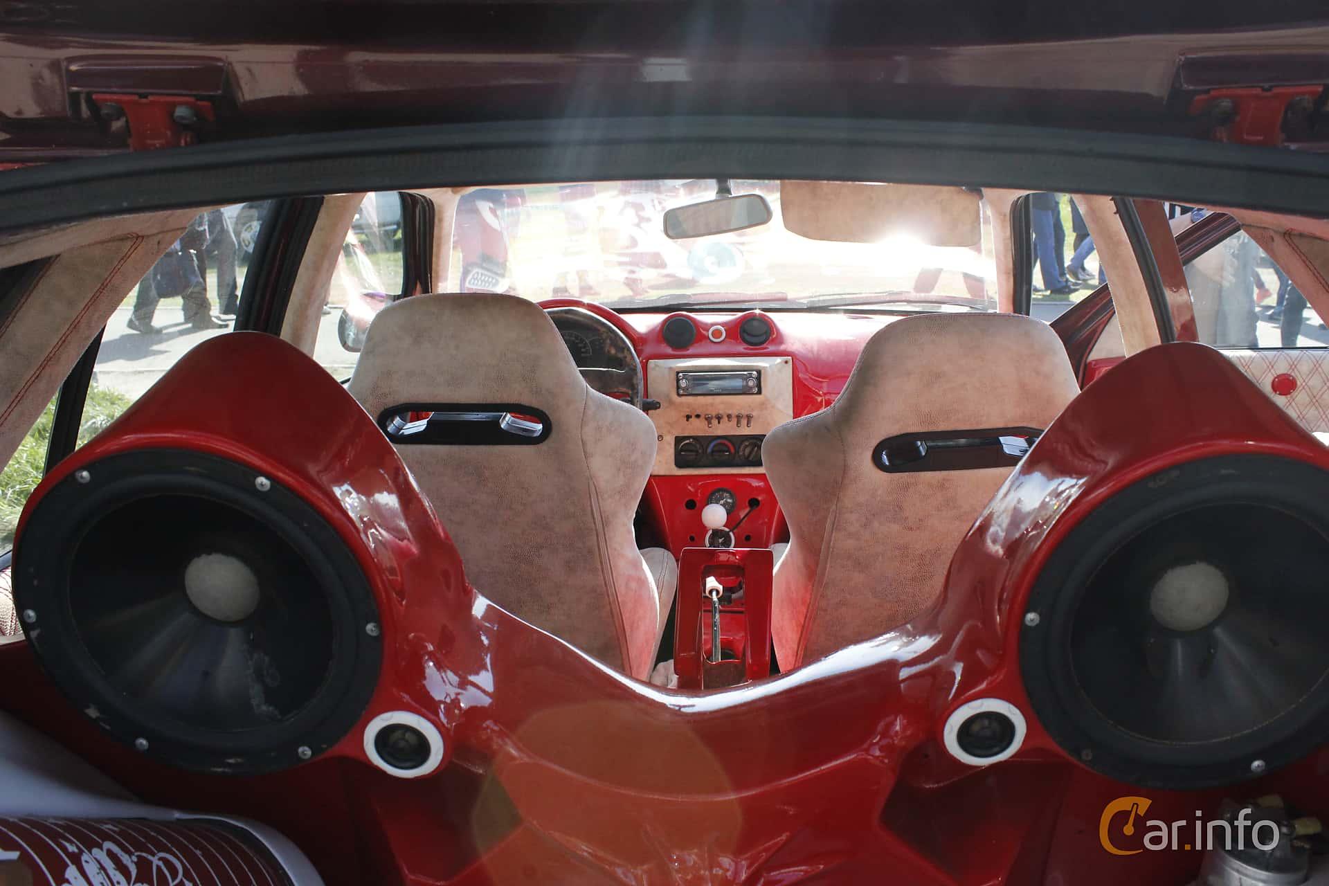 Interior Of Fiat Tipo 1991 At Old Car Land No1 2018 Audio