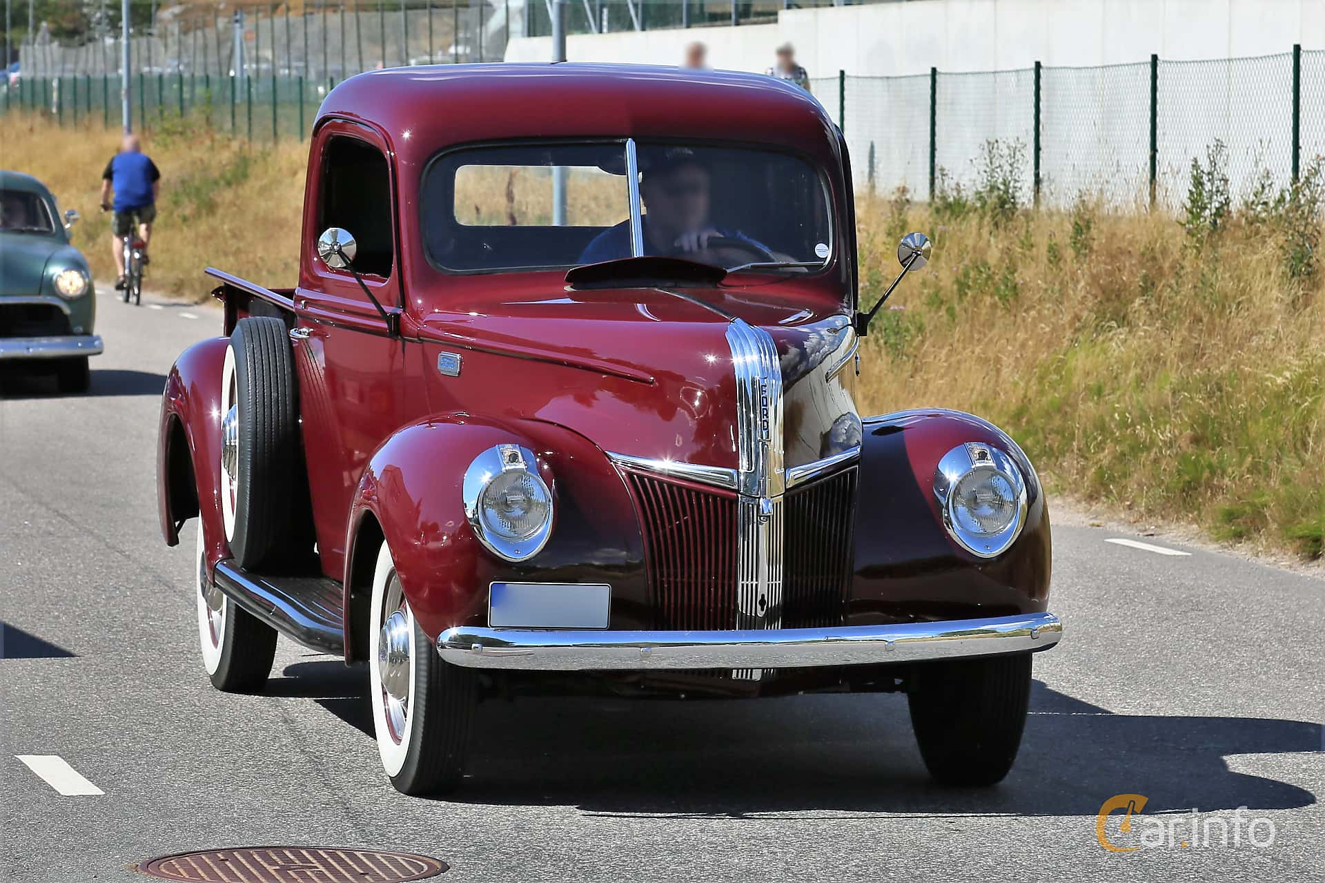 1 Images Of Ford Model 11c Pickup Truck 36 V8 Manual 91hp 1941 By 3 4 Ton Front Side 91ps
