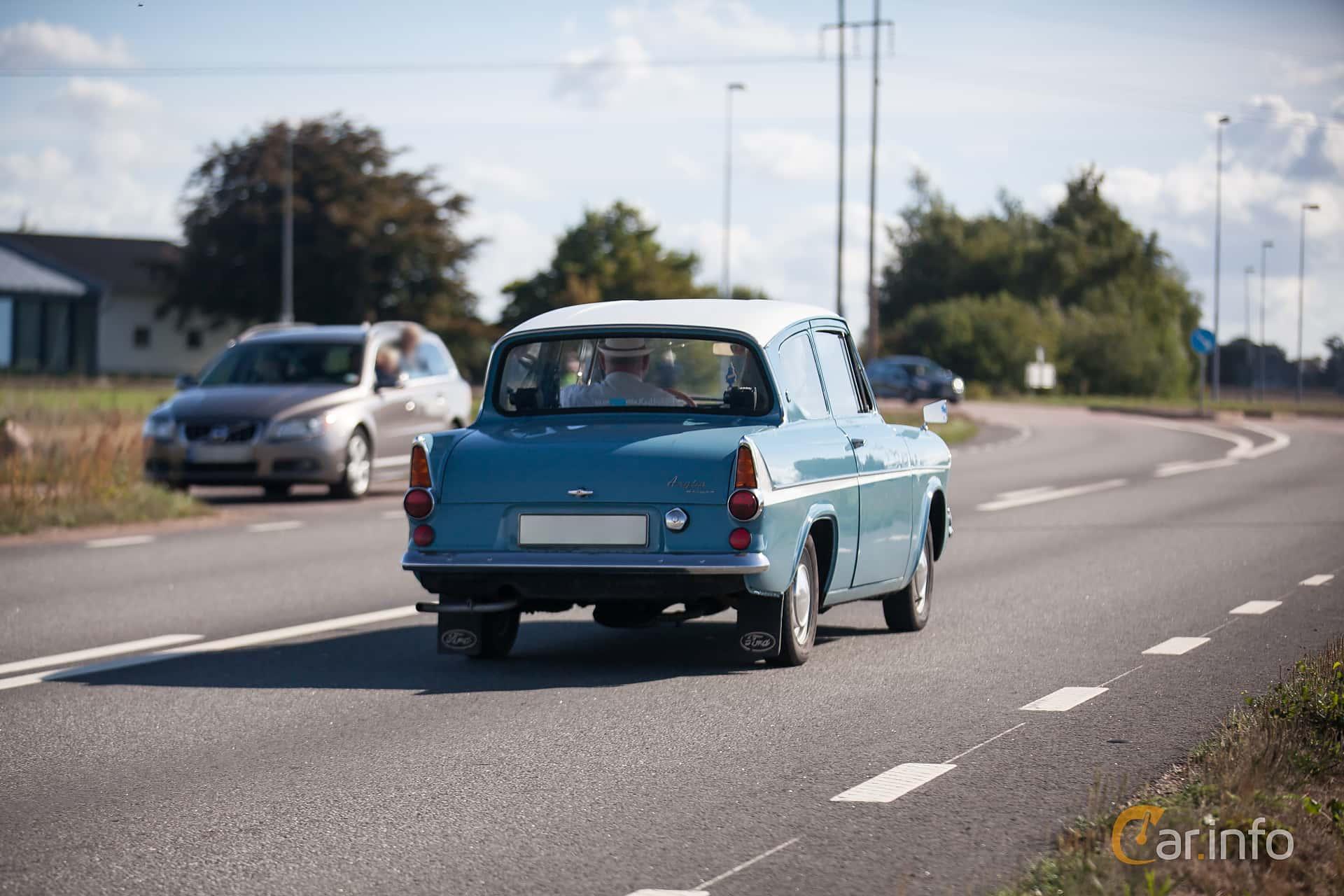 Ford Anglia 1.0 Manual, 39hp, 1961 at Lergökarallyt 2018
