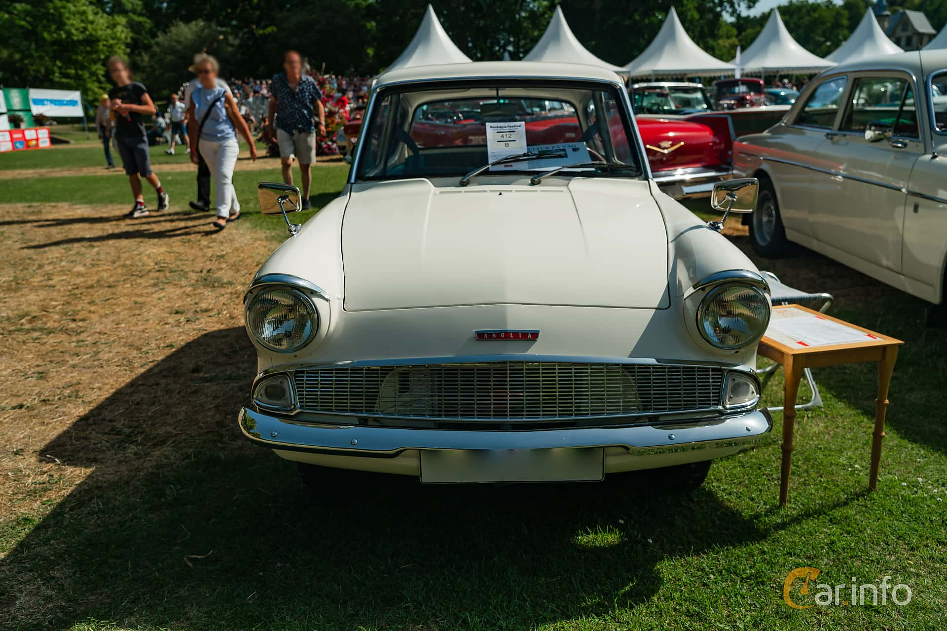 Ford Anglia 1.0 Manual, 39hp, 1962 at Ronneby Nostalgia Festival 2019
