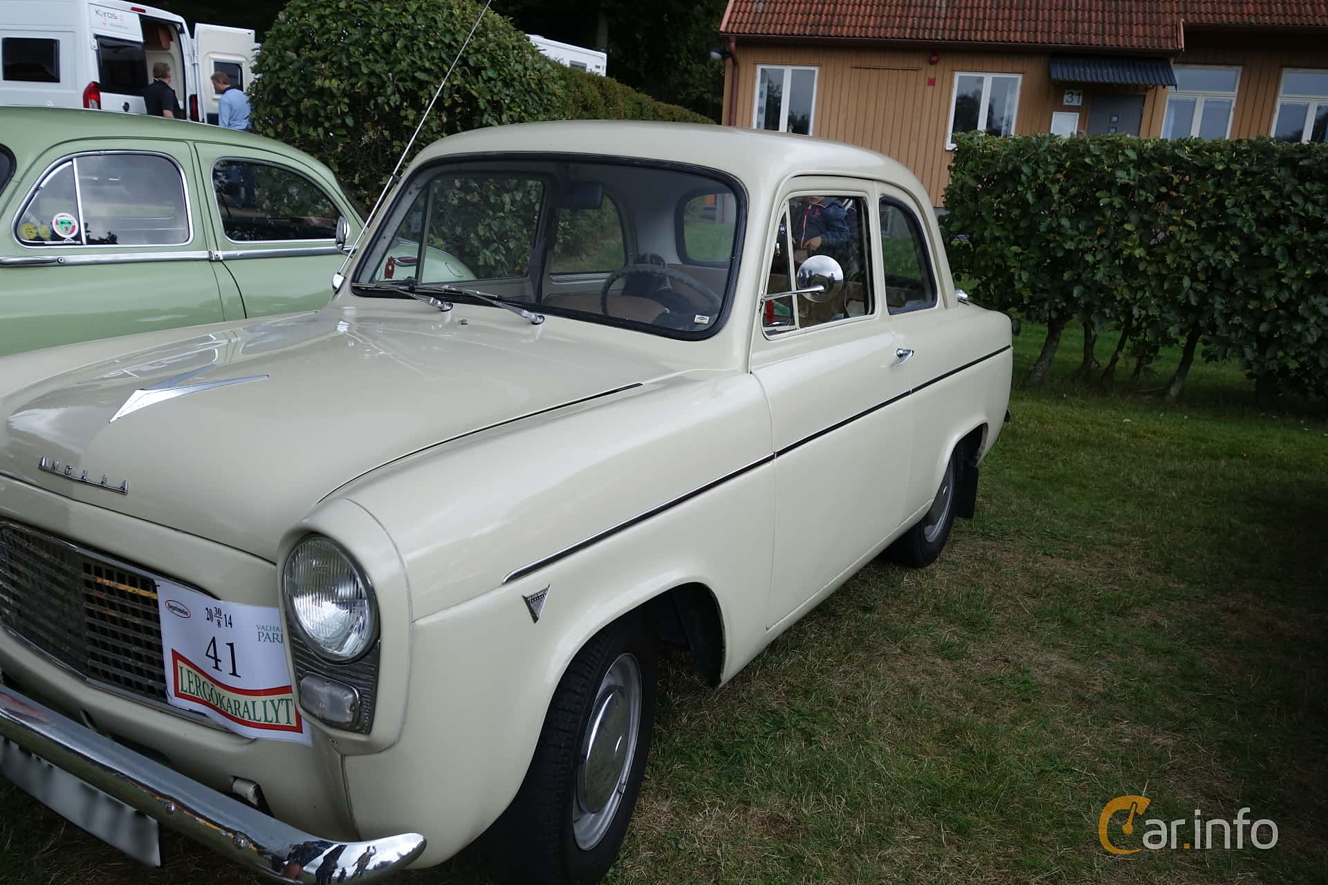 Ford Anglia 1.0 Manual, 38hp, 1959 at Lergökarallyt 2014