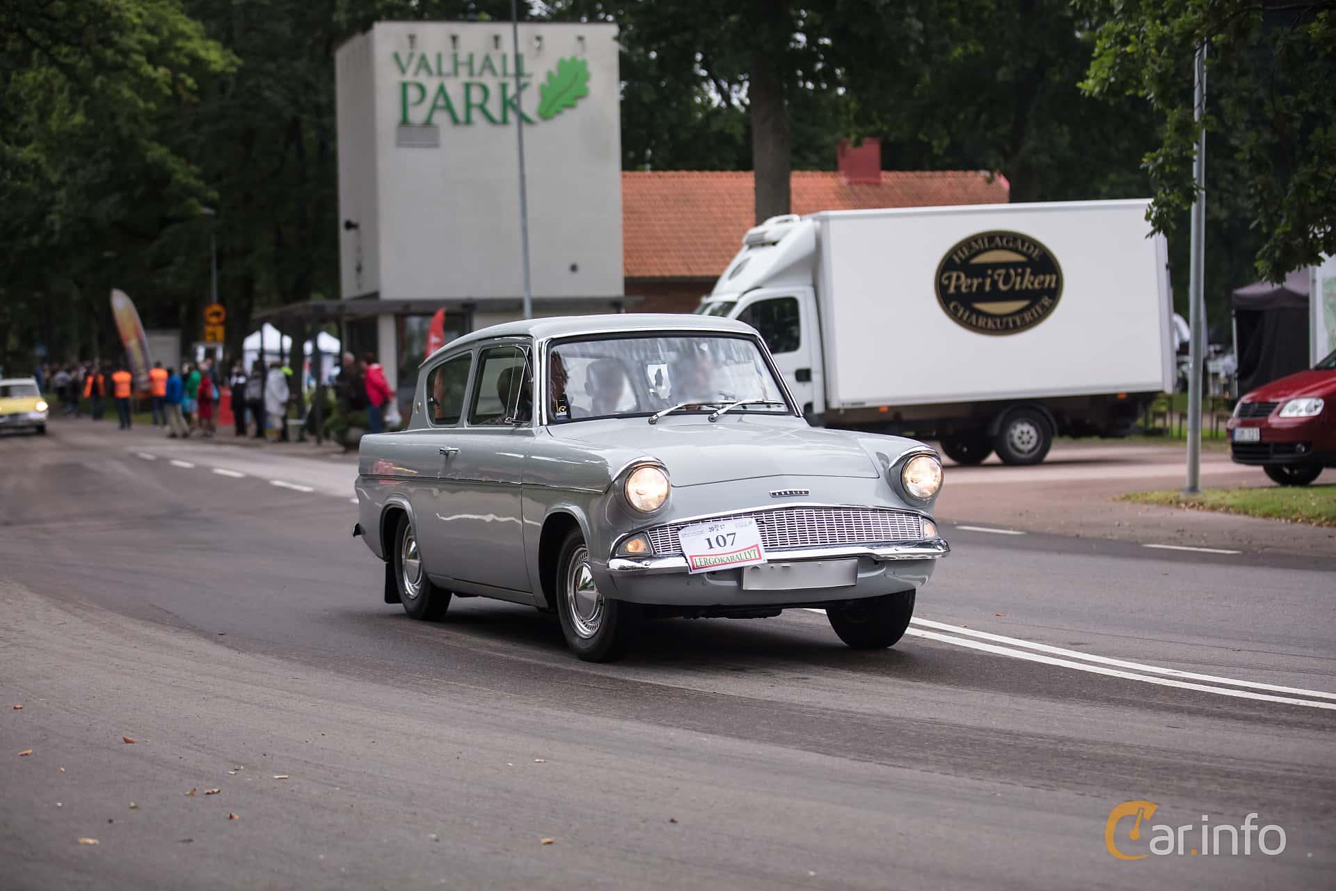 Ford Anglia 1.0 Manual, 39hp, 1960 at Lergökarallyt 2017