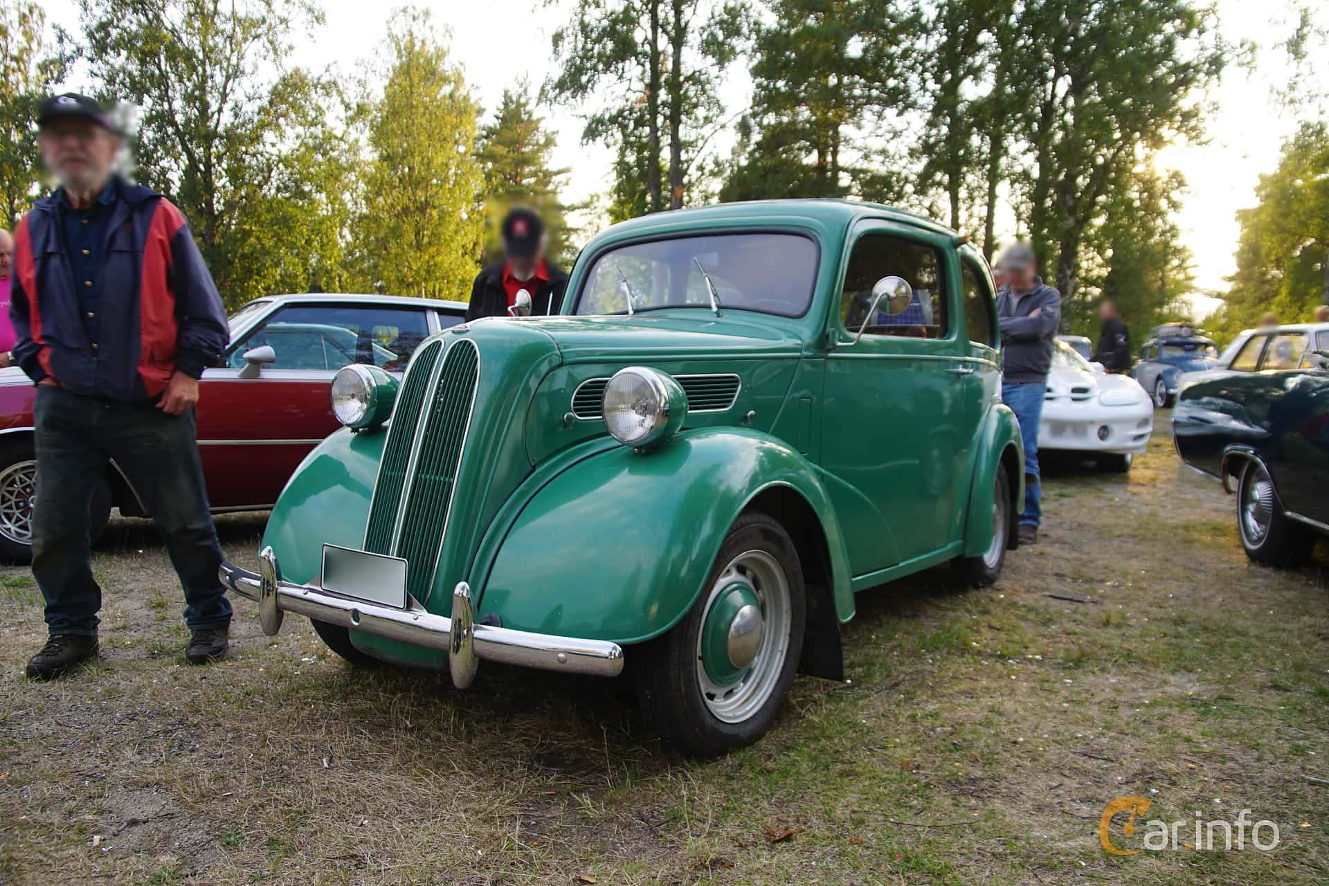 Ford Anglia 1.2 Manual, 30hp, 1950 at Onsdagsträffar på Gammlia Umeå v.35 / 2018