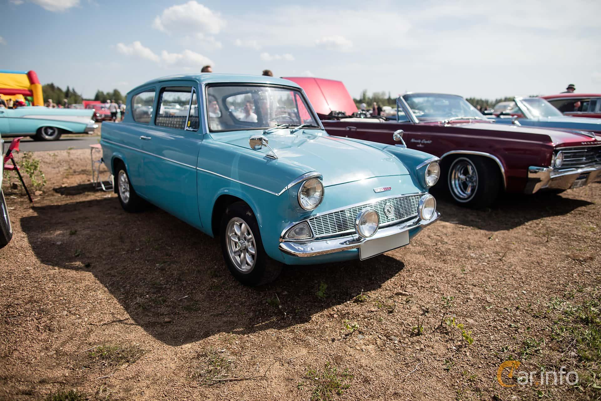 Ford Anglia 1.0 Manual, 39hp, 1962 at Riksettanrallyt 2018