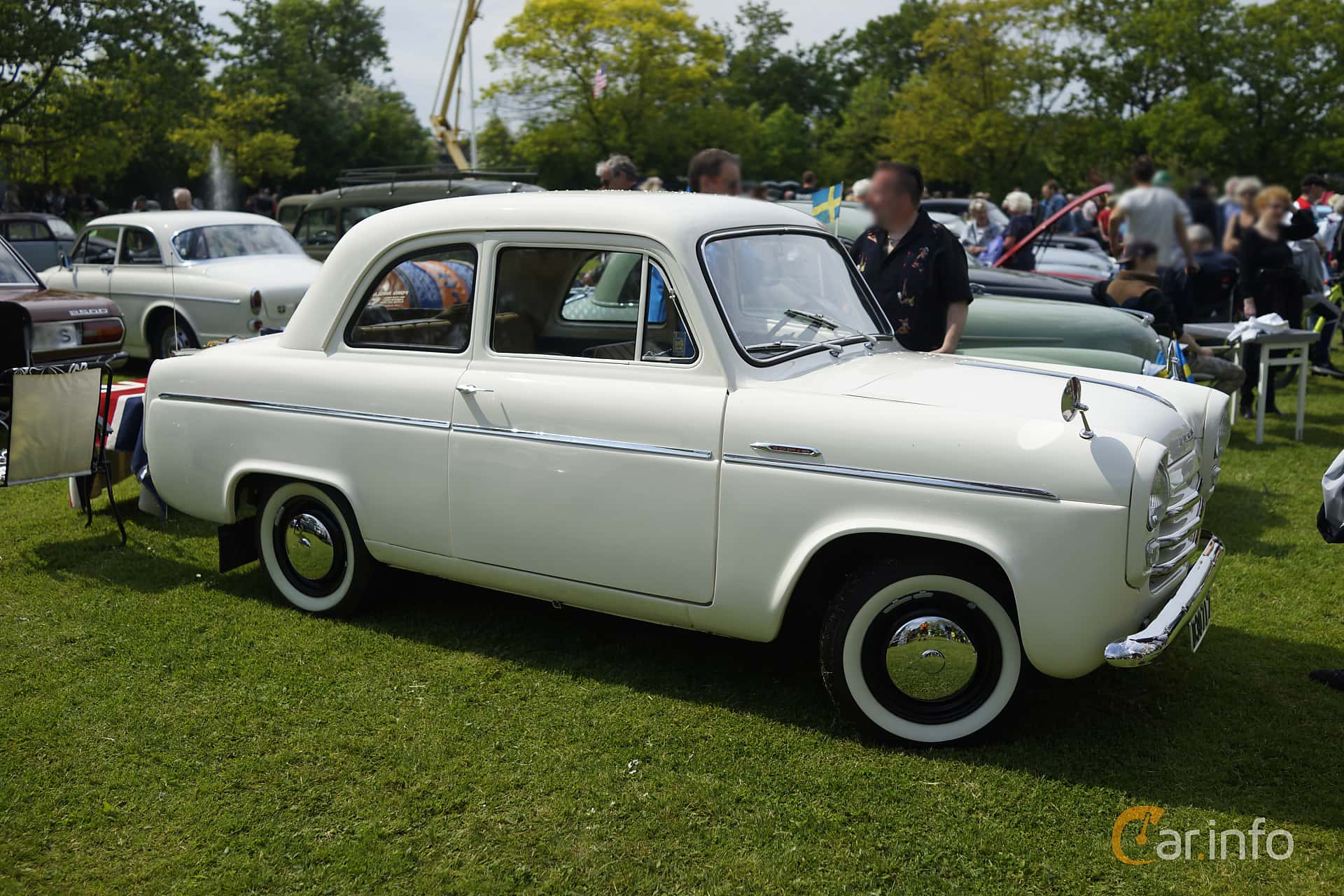 Ford Anglia 1.2 Manual, 37hp, 1956 at Staffanstorps Motorfestival 2015