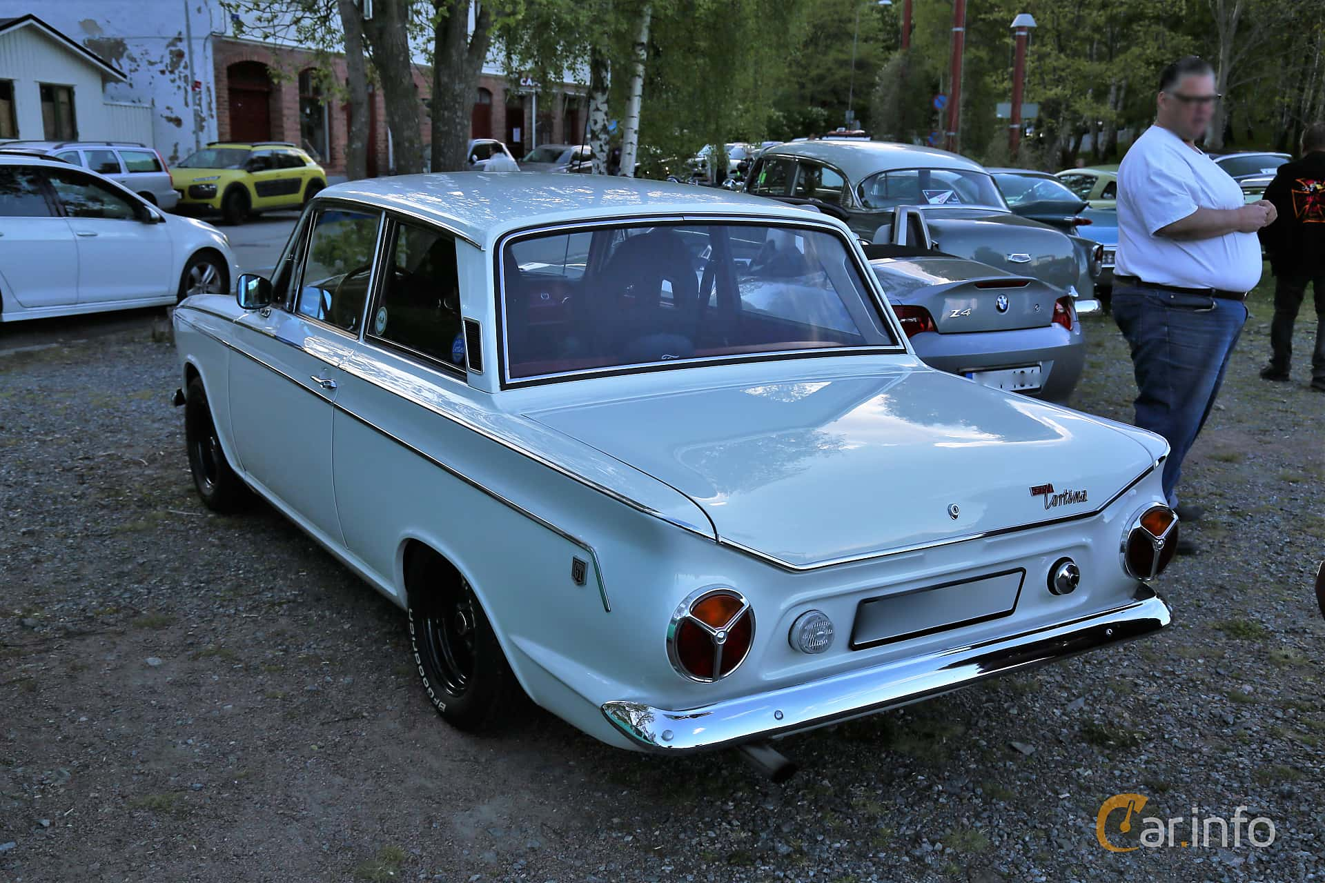 Ford Cortina GT 2-door 1.5 Manual, 76hp, 1965