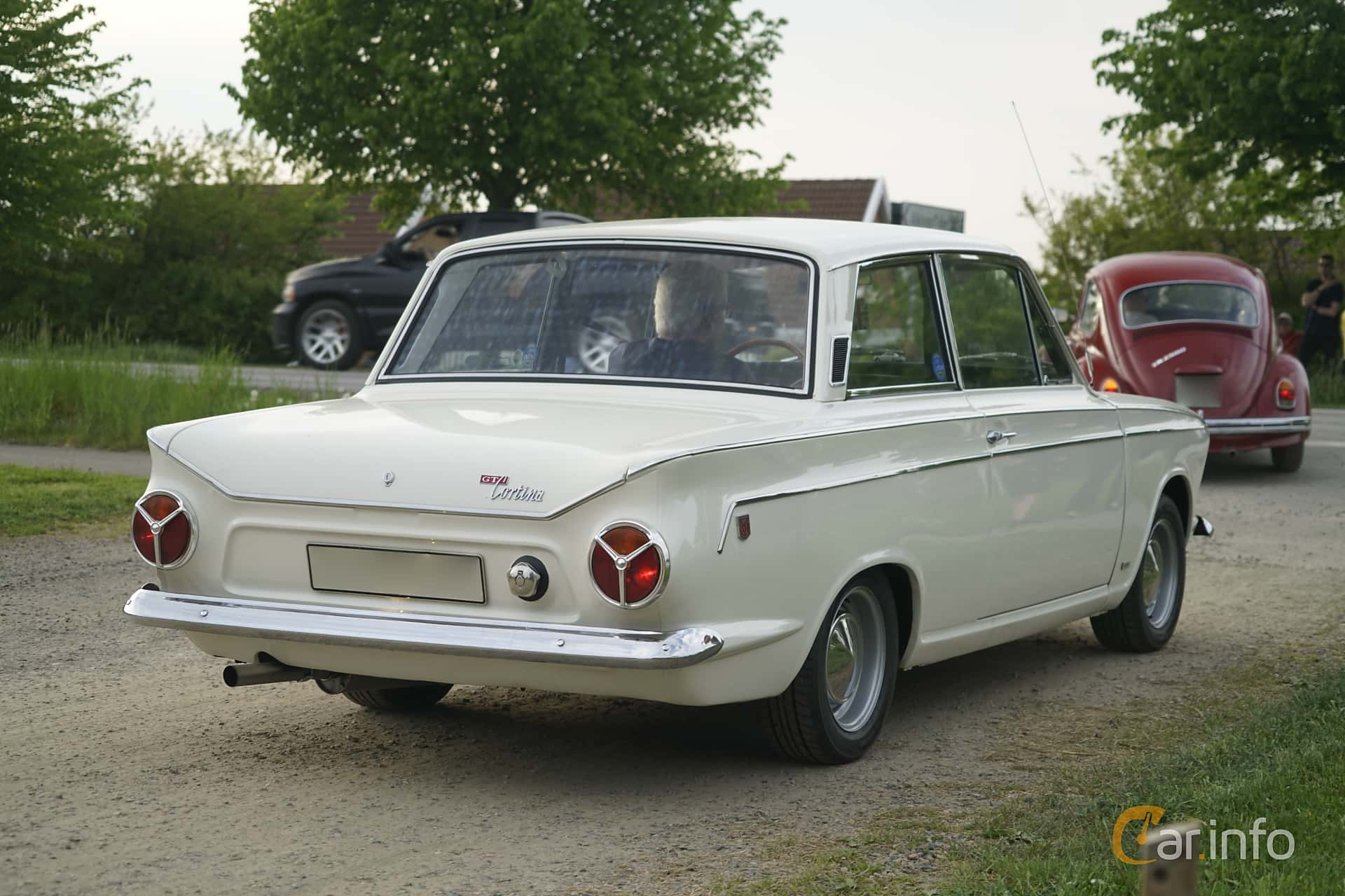 Ford Cortina GT 2-door 1.5 Manual, 76hp, 1966 at Tisdagsträffarna Vikingatider v.21 / 2017