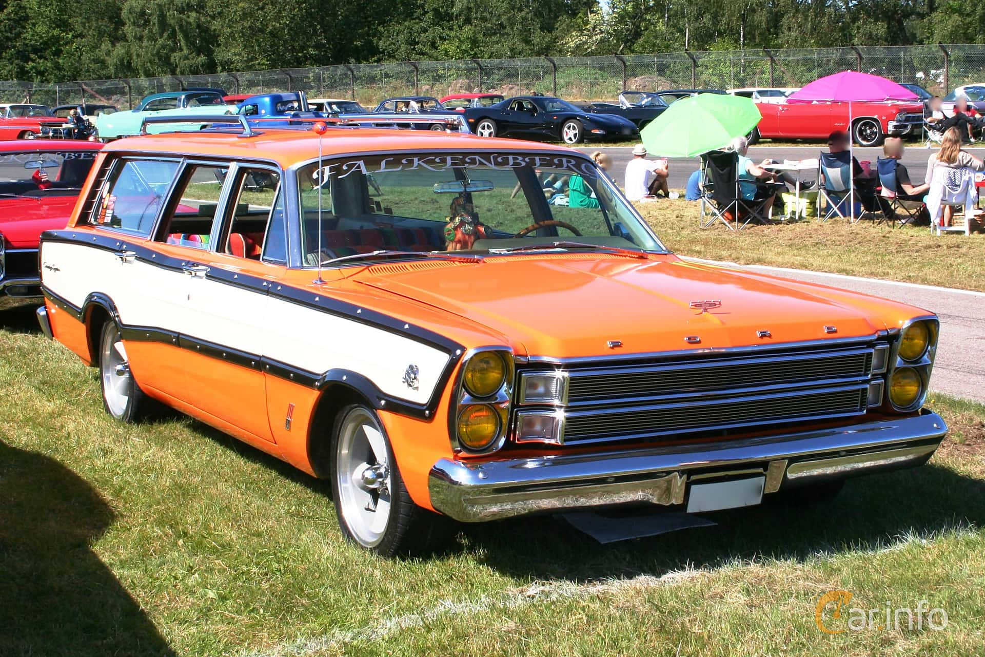 Ford Country Squire 3-seat 5.8 V8 Automatic, 319hp, 1966 at Wheels & Wings 2015