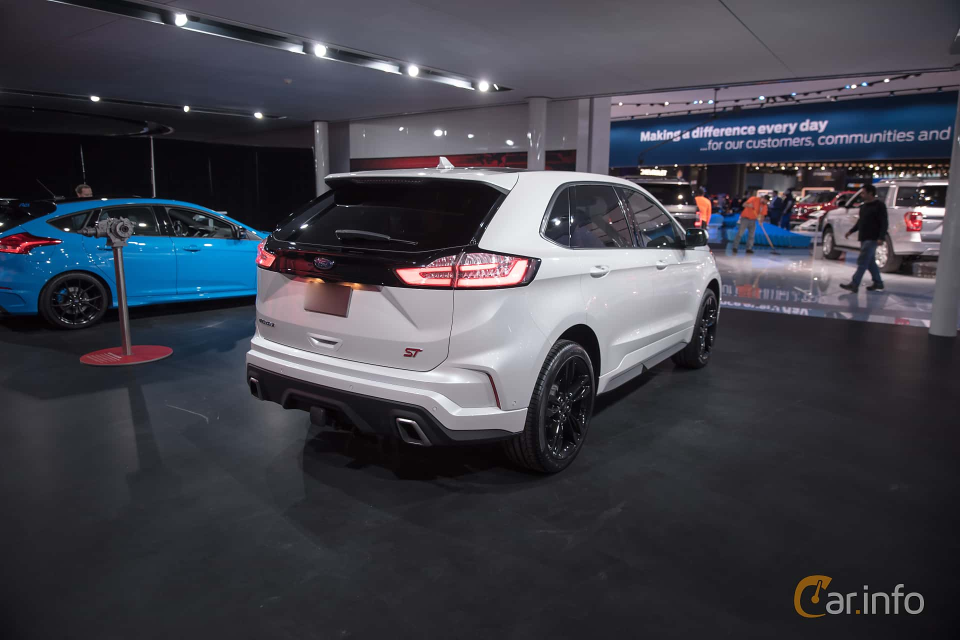 Ford Edge ST 2.7 V6 EcoBoost AWD Automatic, 329hp, 2019 at North American International Auto Show 2018