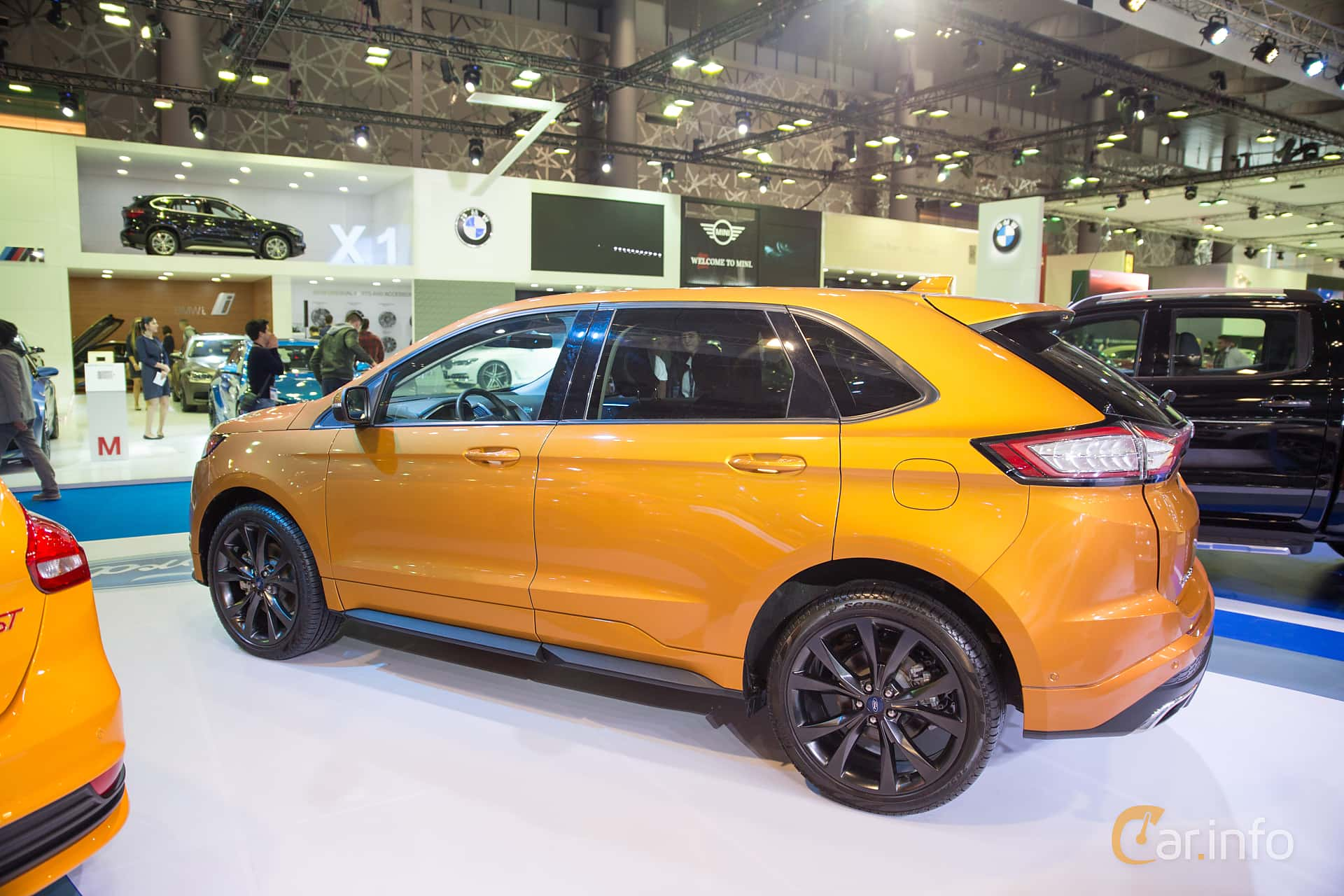 Side Of Ford Edge  At Qatar Motorshow