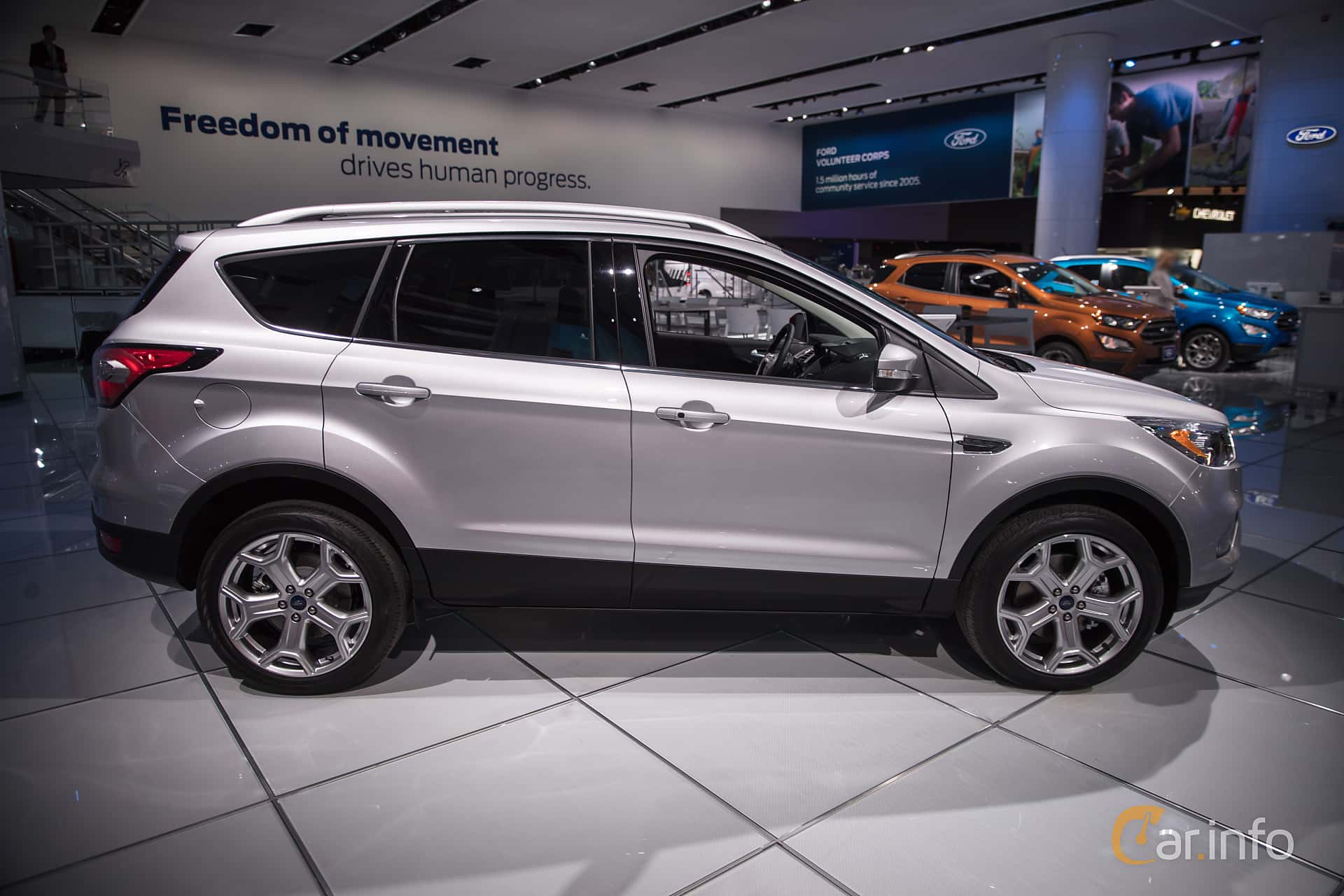 Ford Escape Dimensions >> Ford Escape 3rd Generation Facelift 2.0 EcoBoost 4WD ...