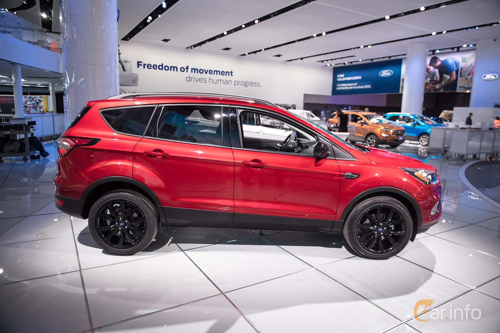 Ford Escape 1.5 EcoBoost Automatic, 182hp, 2018 at North American International Auto Show 2018