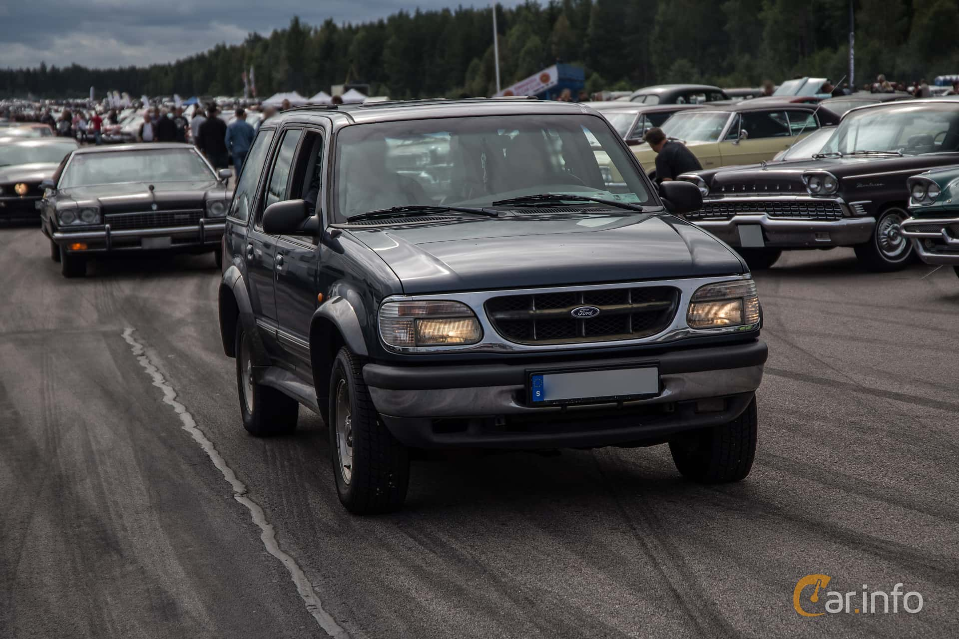 Ford Explorer 4.0 V6 4WD Automatic, 162hp, 1998 at Power End of Summer Meet Emmaboda 2017