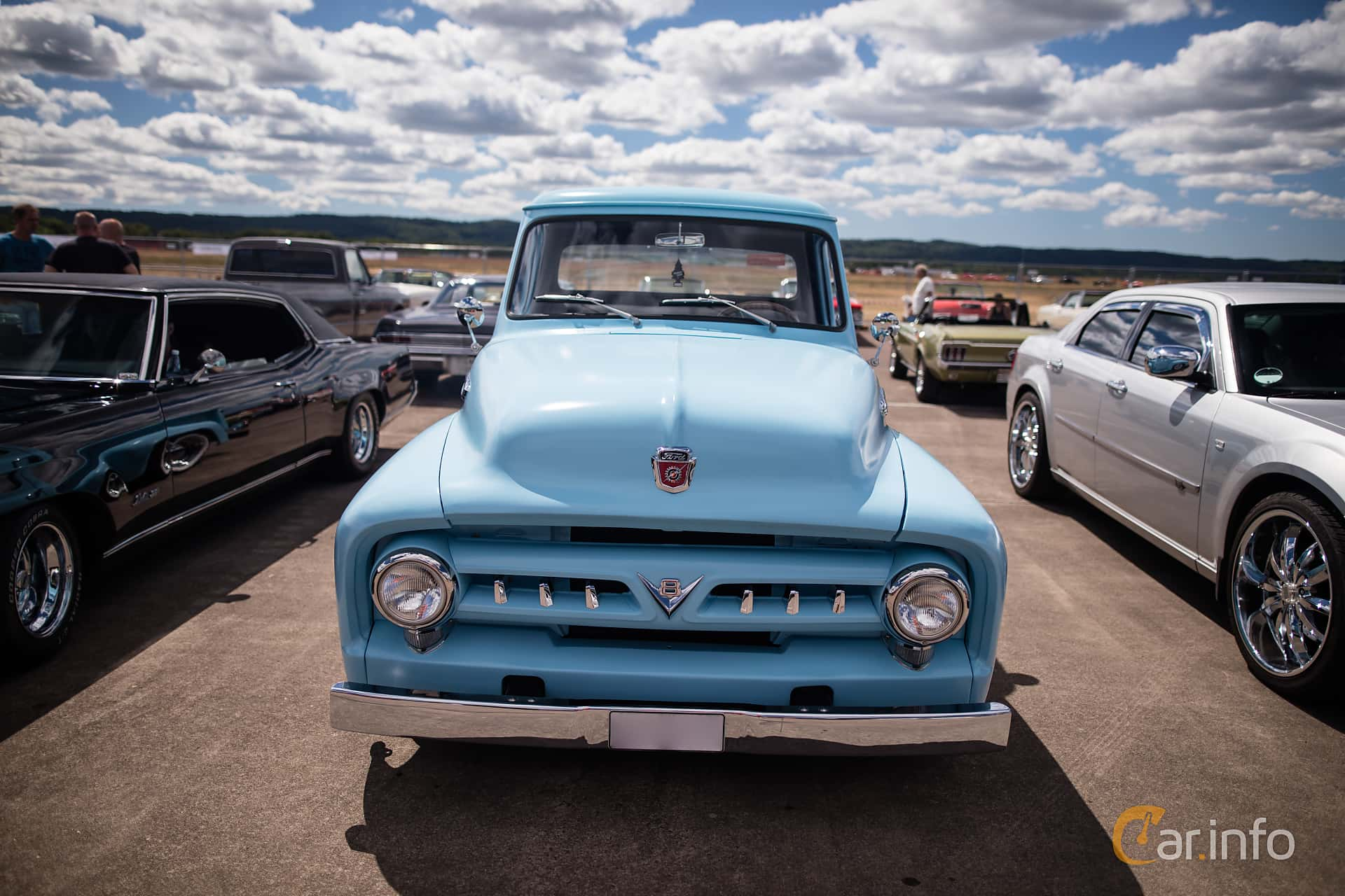 Ford F Pickup 5.2 V8 Automatic, 170hp, 1955 at Power no Bullshit 2016